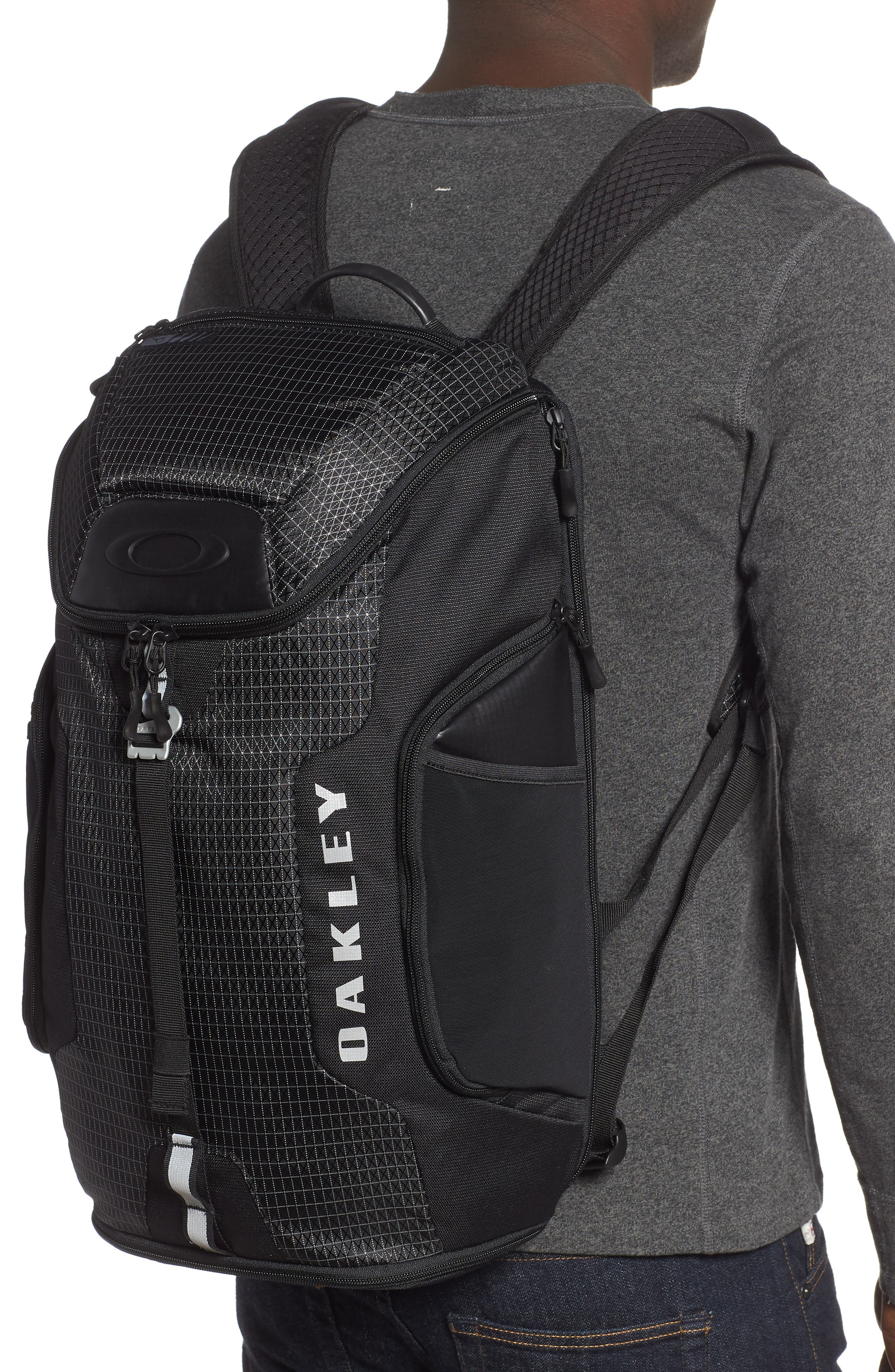 OAKLEY,                             Link Backpack,                             Alternate thumbnail 2, color,                             BLACKOUT
