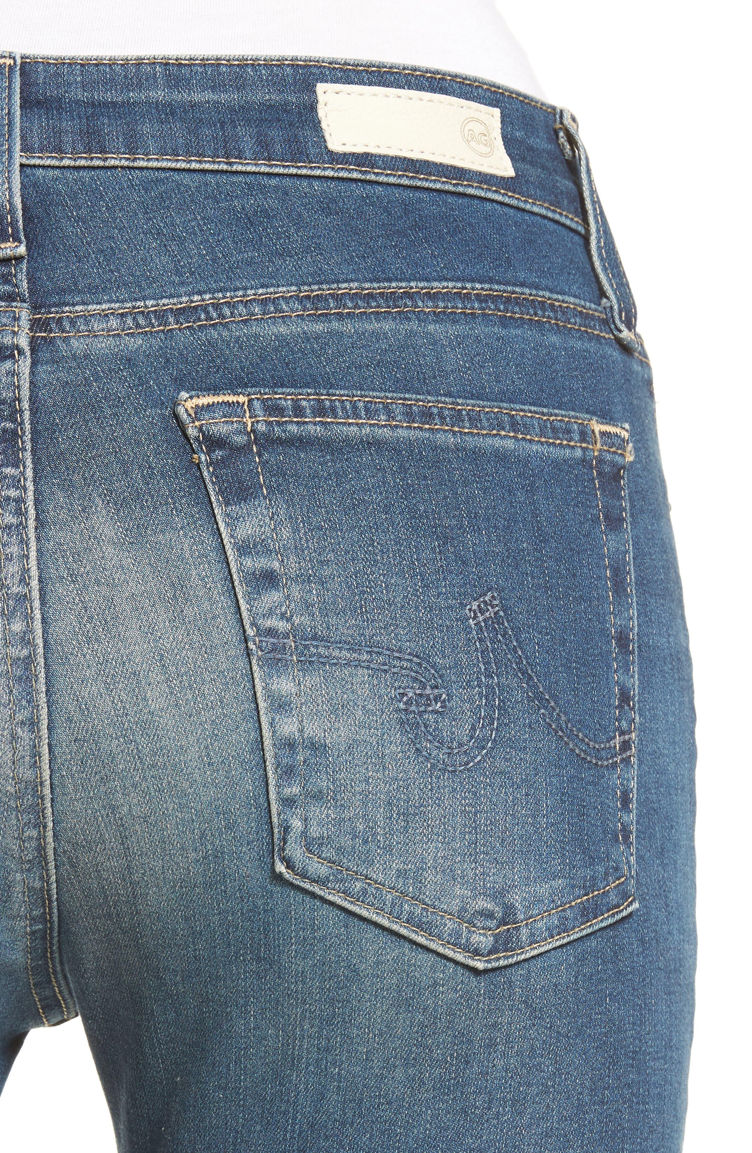 'The Farrah' High Rise Skinny Jeans,                             Alternate thumbnail 33, color,