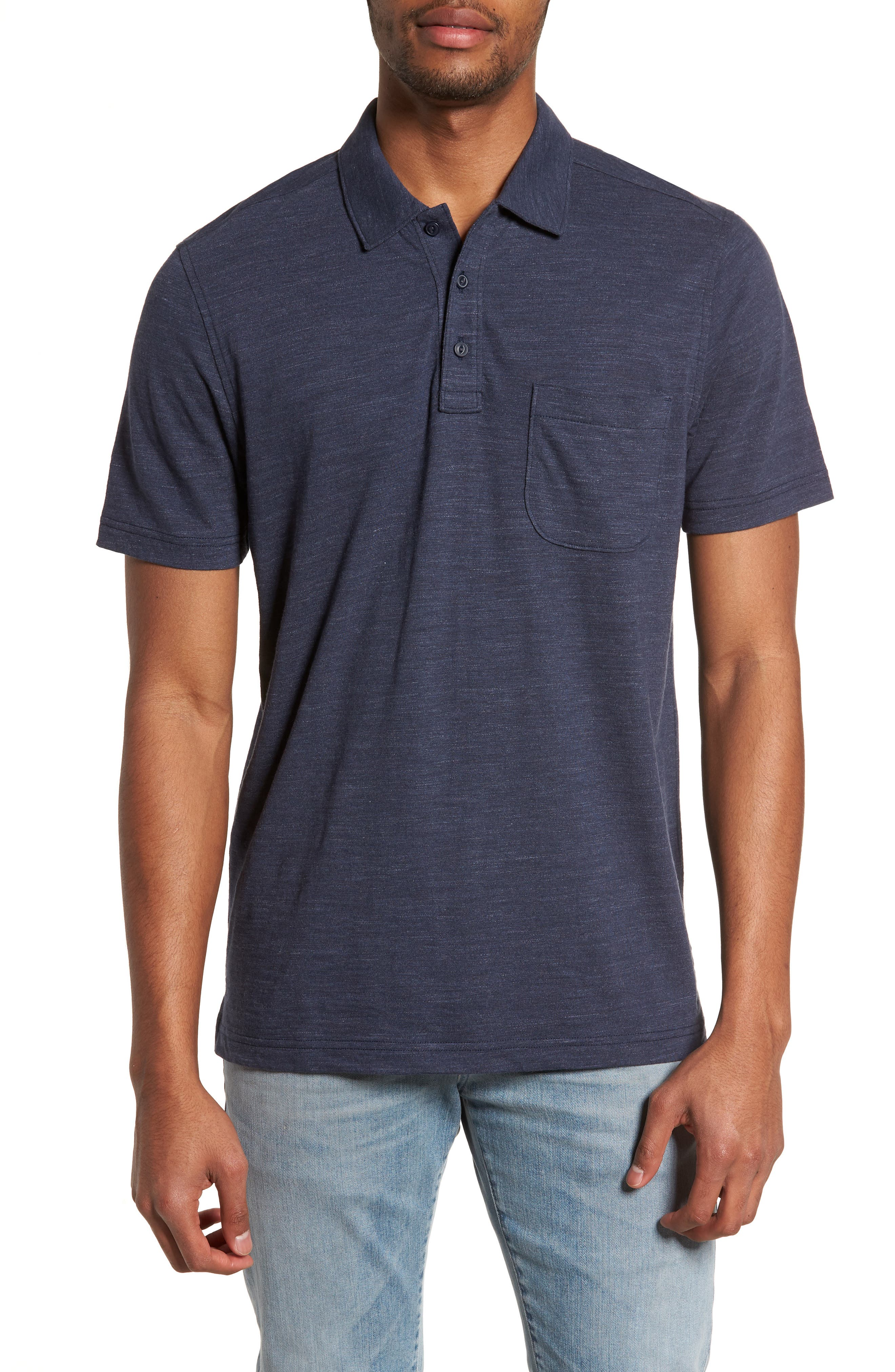 Space Dyed Pocket Polo,                             Main thumbnail 4, color,