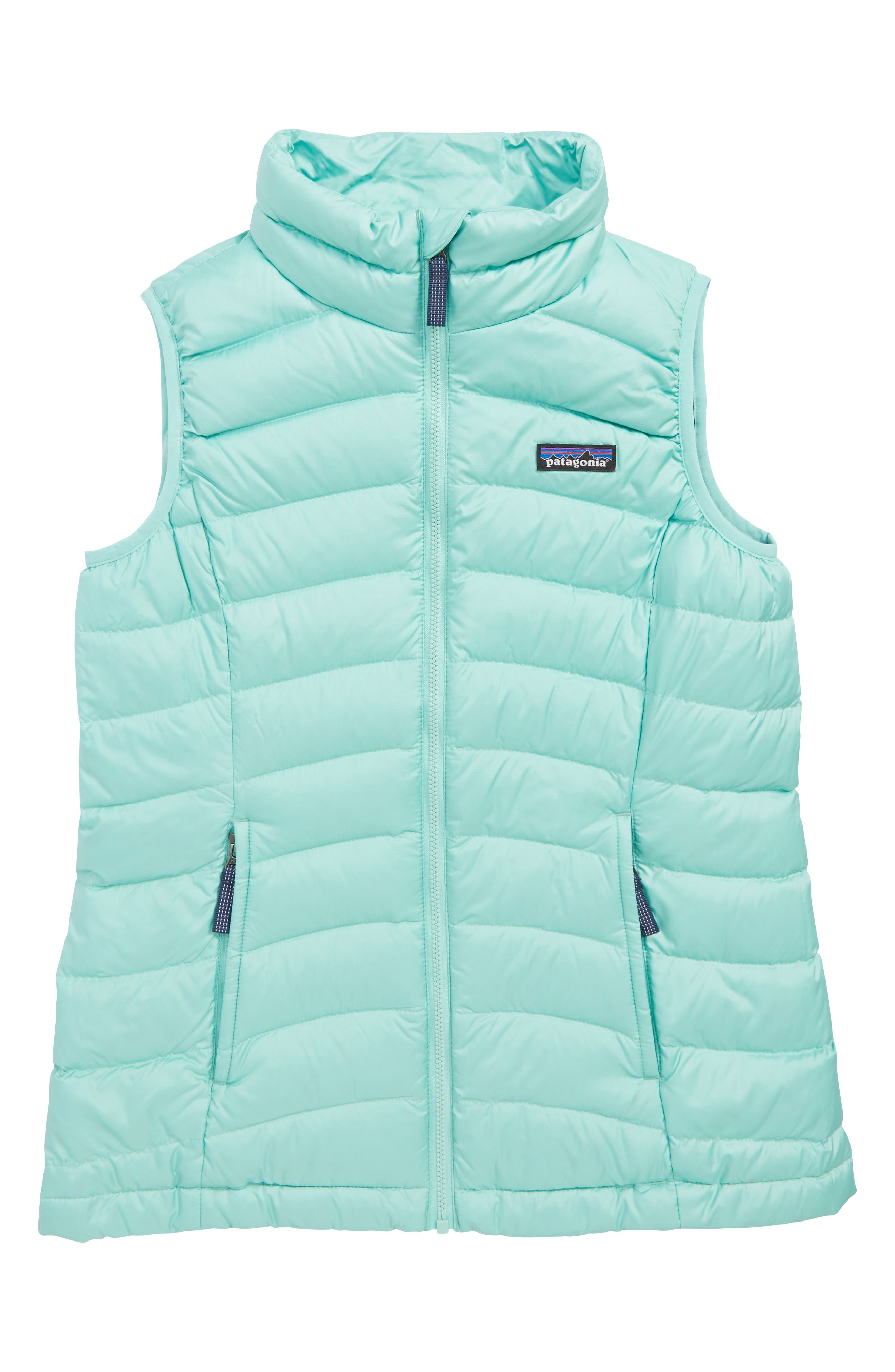 Water Repellent Down Vest,                             Main thumbnail 1, color,                             VJOSA GREEN