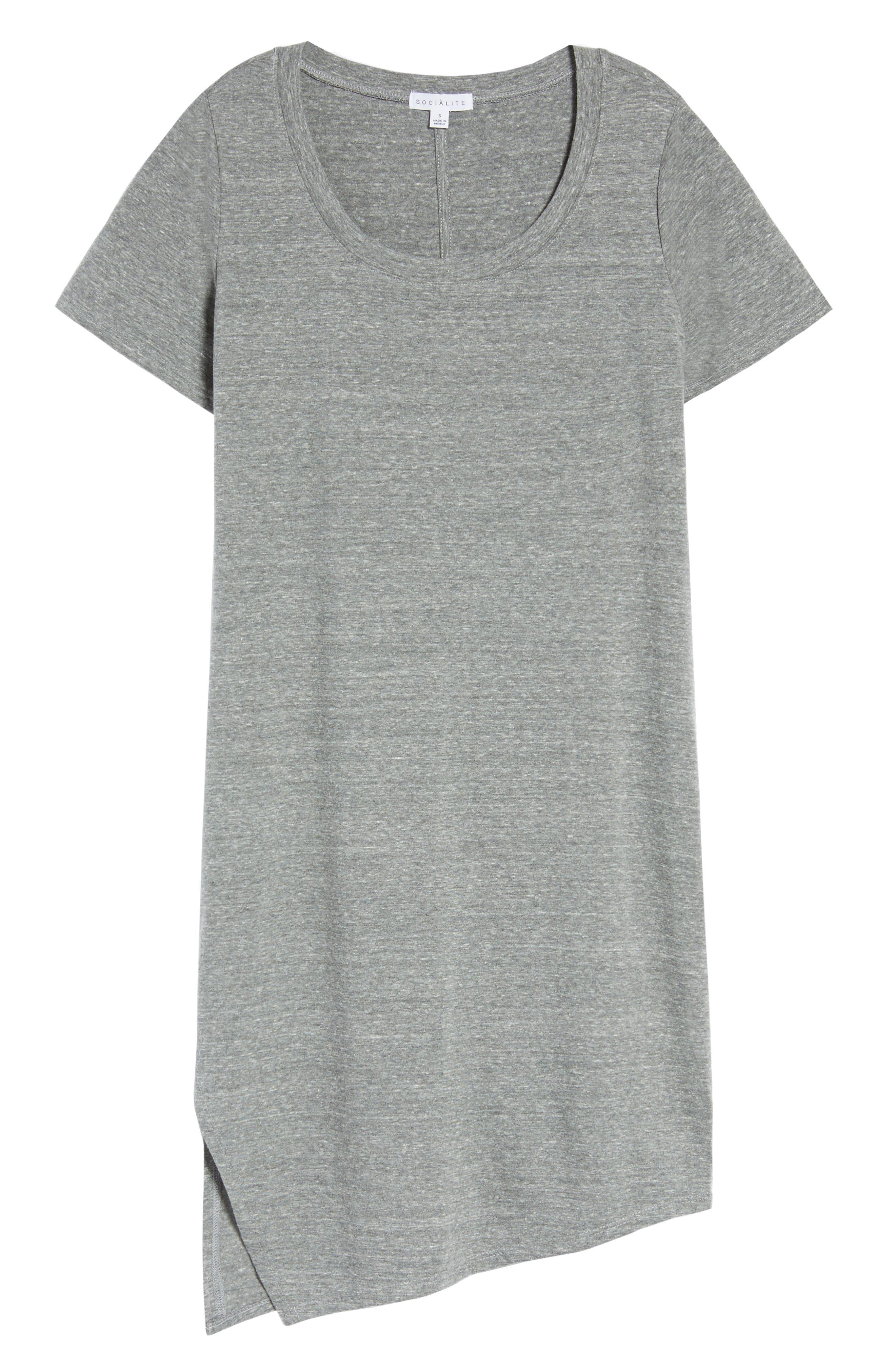 T-Shirt Dress,                             Alternate thumbnail 6, color,                             036