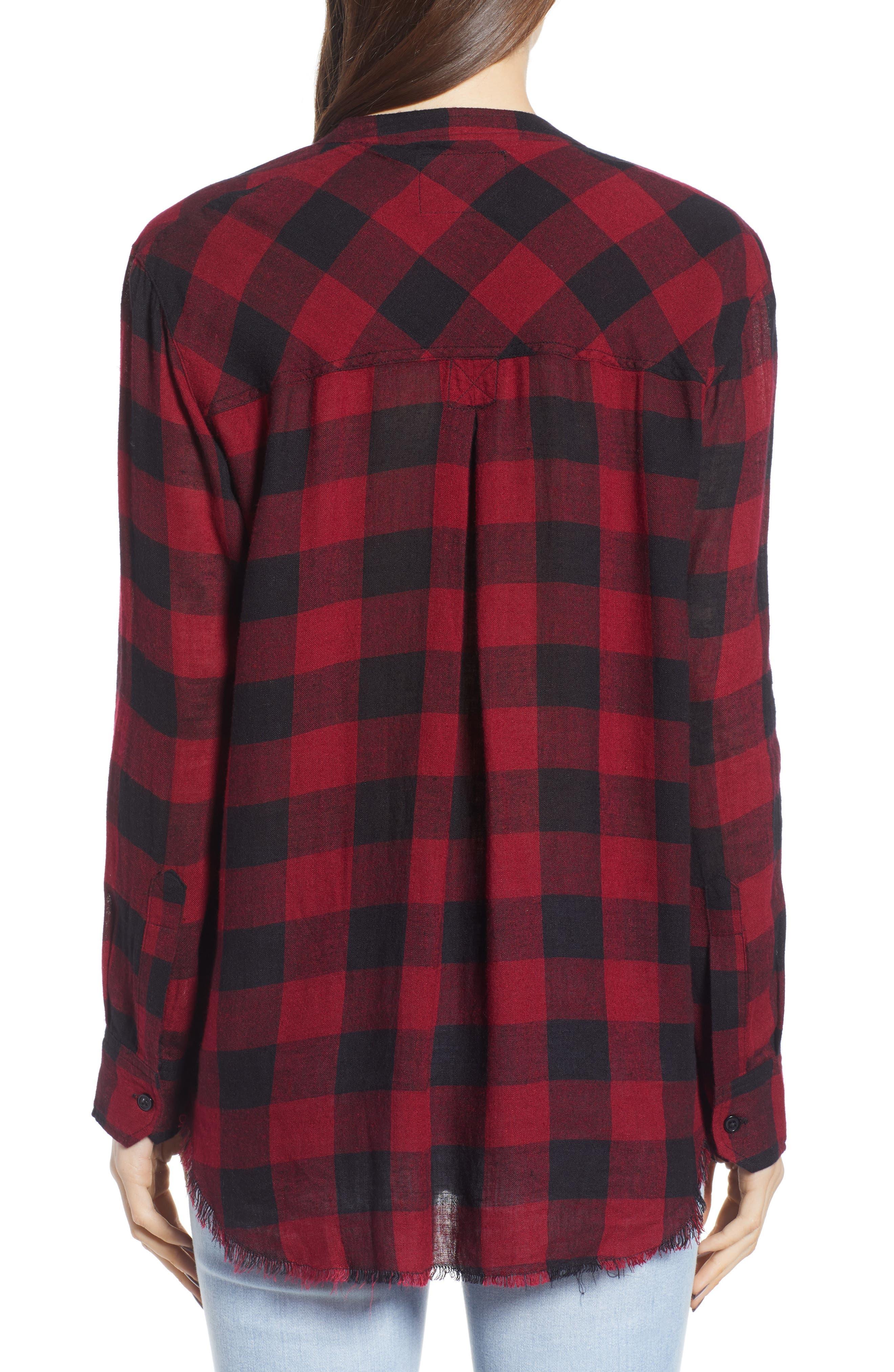 Redding Plaid Shirt,                             Alternate thumbnail 2, color,                             006