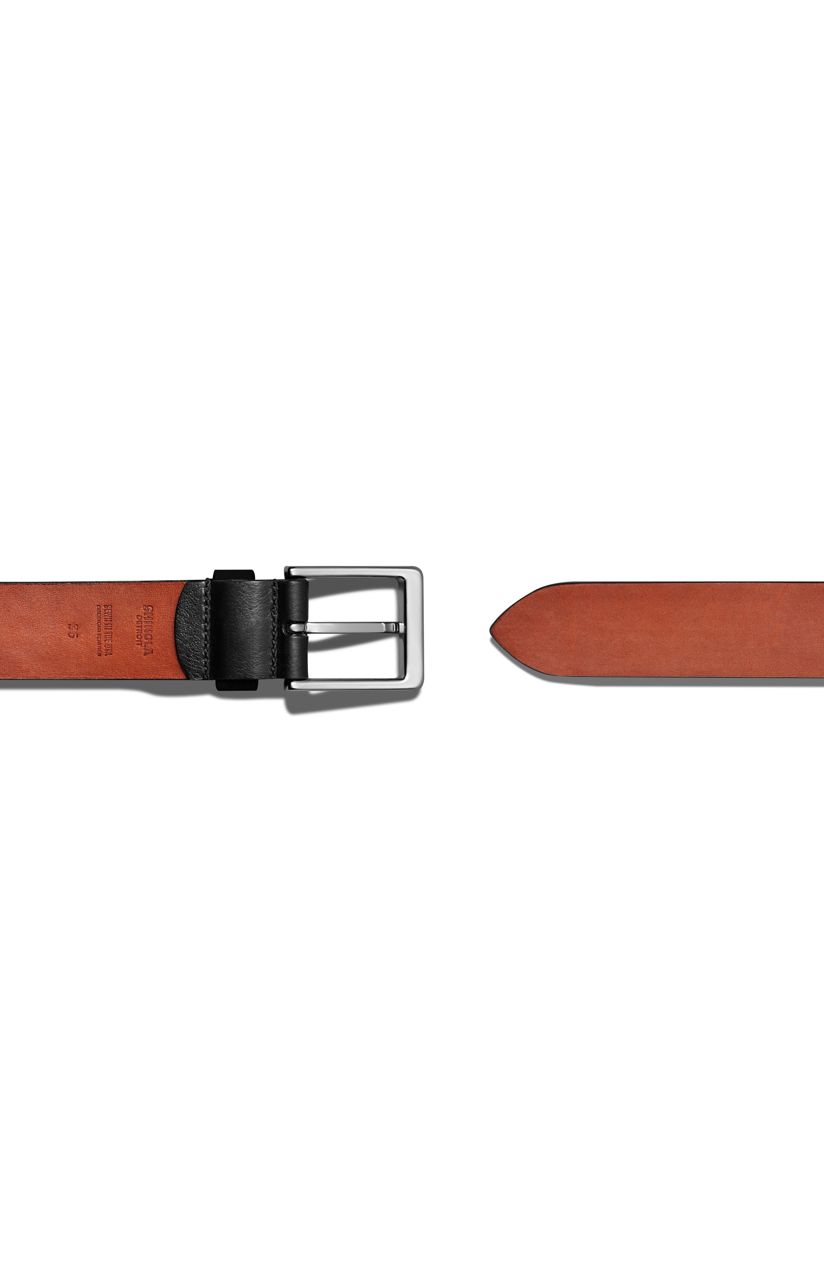 Lightning Bolt Keeper Belt,                             Alternate thumbnail 2, color,                             BLACK