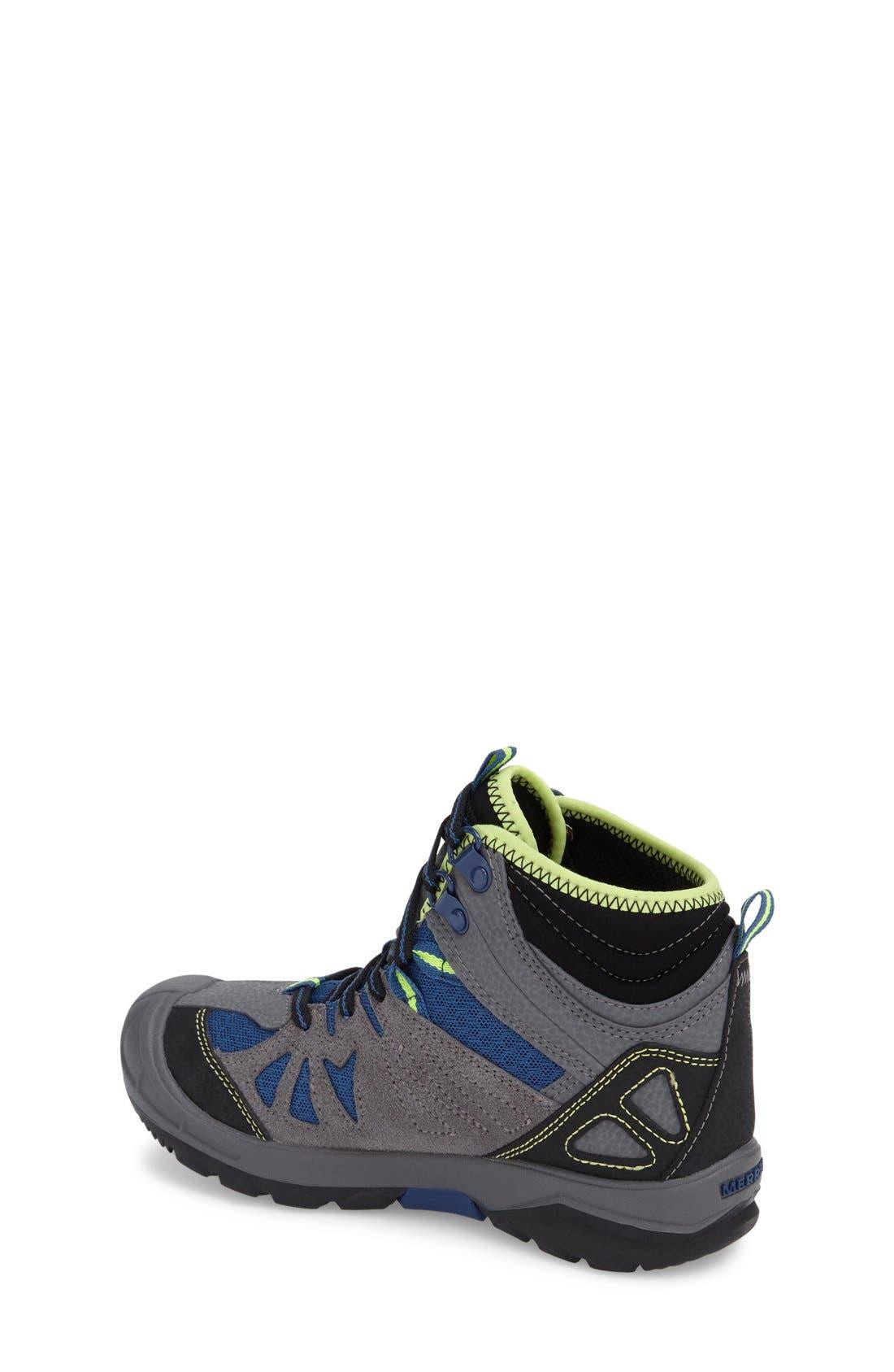 'Capra' Mid High Waterproof Boot,                             Alternate thumbnail 2, color,                             020