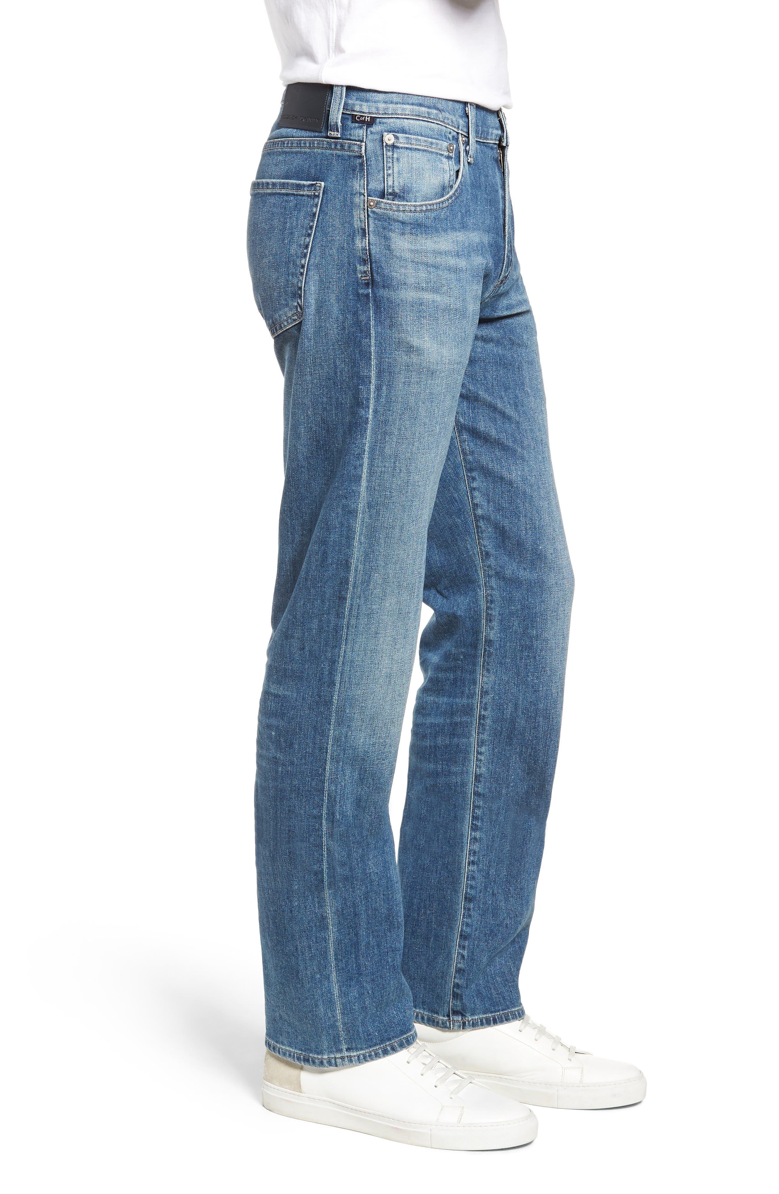 Sid Straight Leg Jeans,                             Alternate thumbnail 3, color,                             YUKON