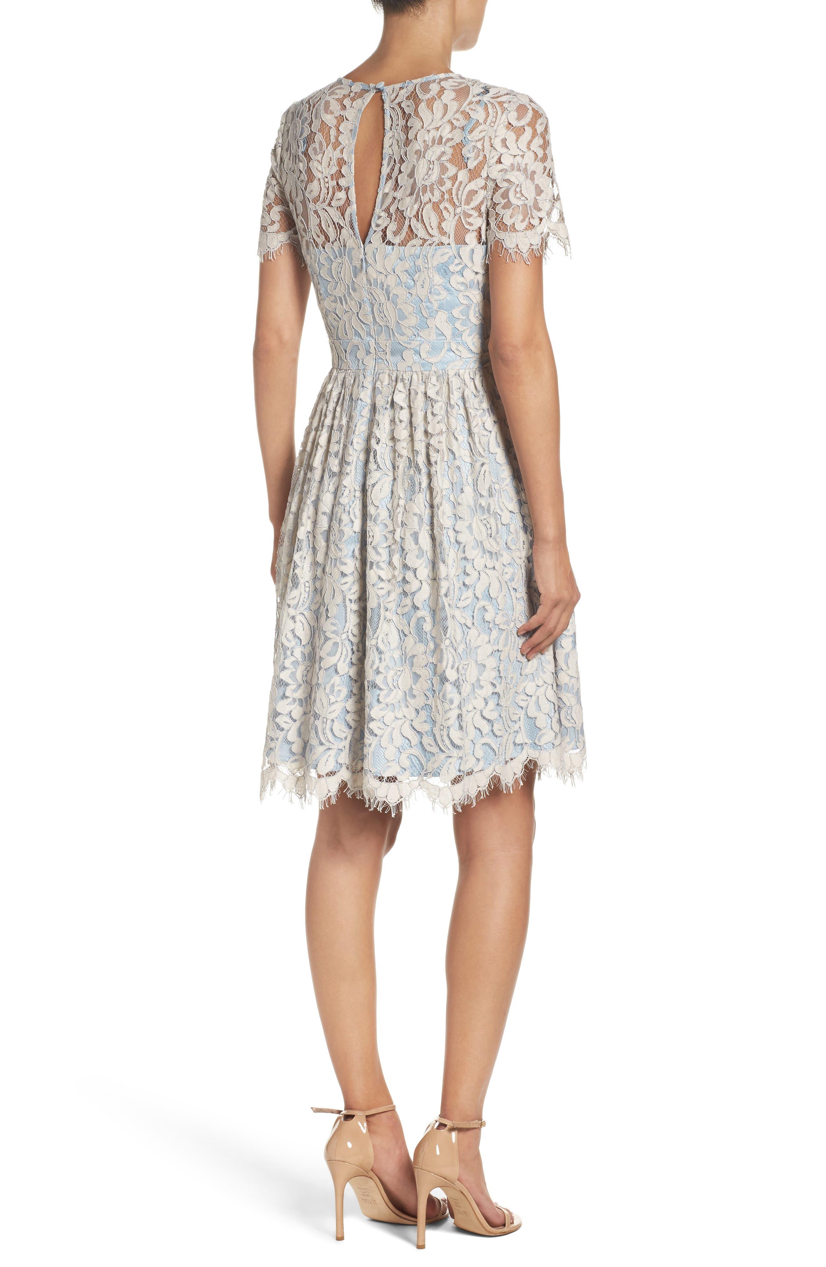 Fit & Flare Dress,                             Alternate thumbnail 2, color,                             451