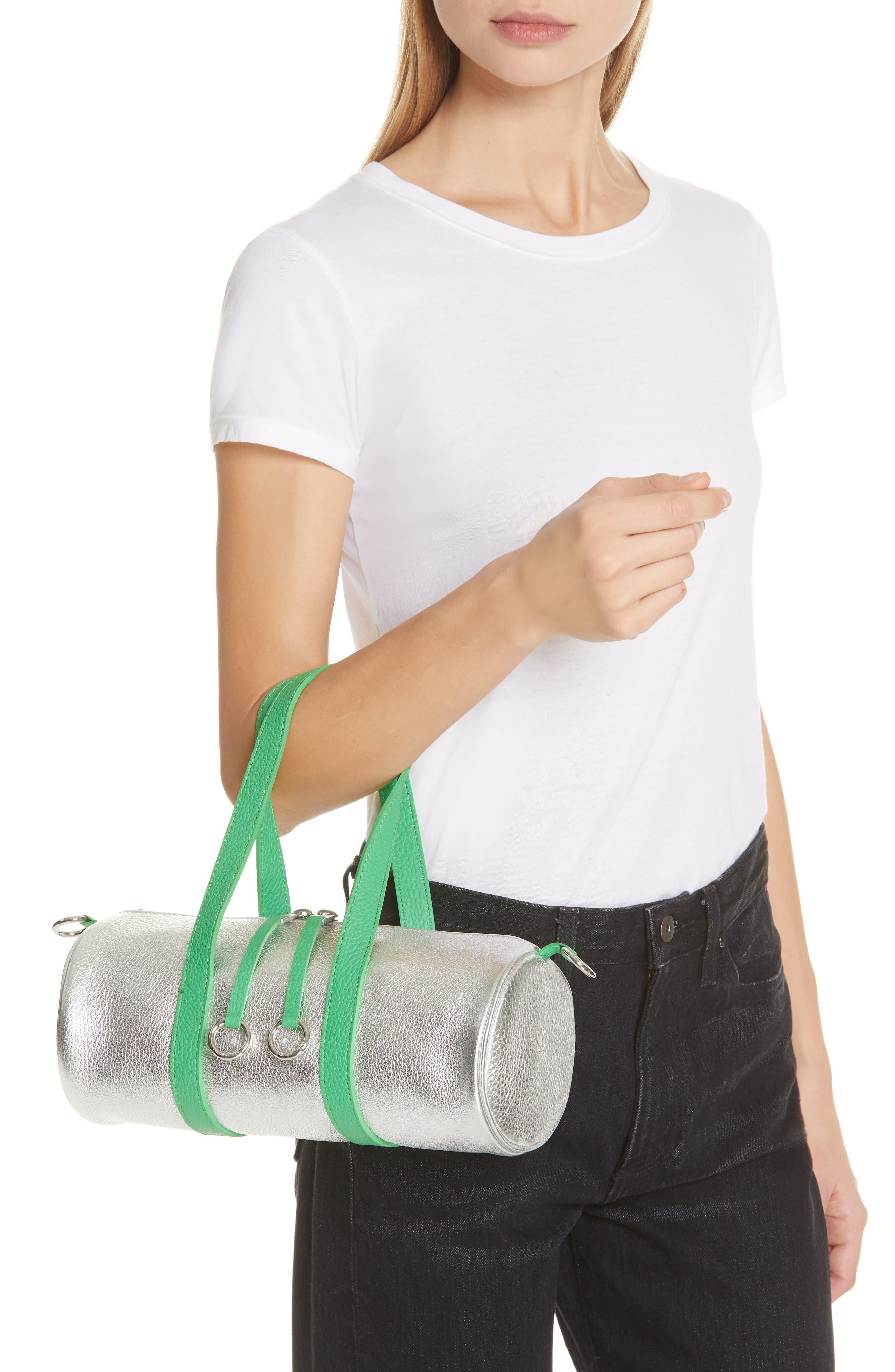 Mini Tool Kit Shoulder Bag,                             Alternate thumbnail 2, color,                             TIN FOIL