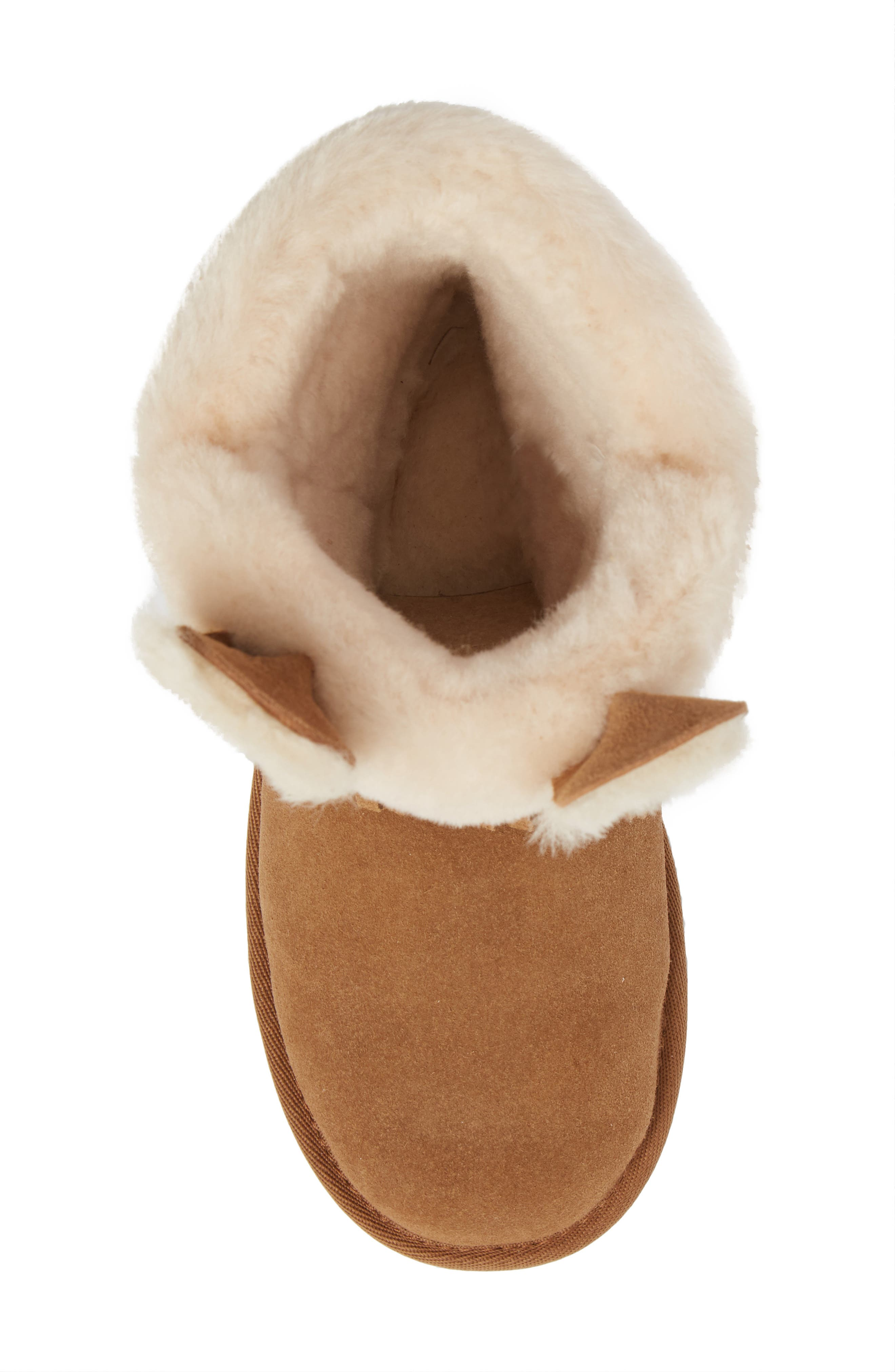 Darlala Classic II Genuine Shearling Boot,                             Alternate thumbnail 5, color,                             CHESTNUT