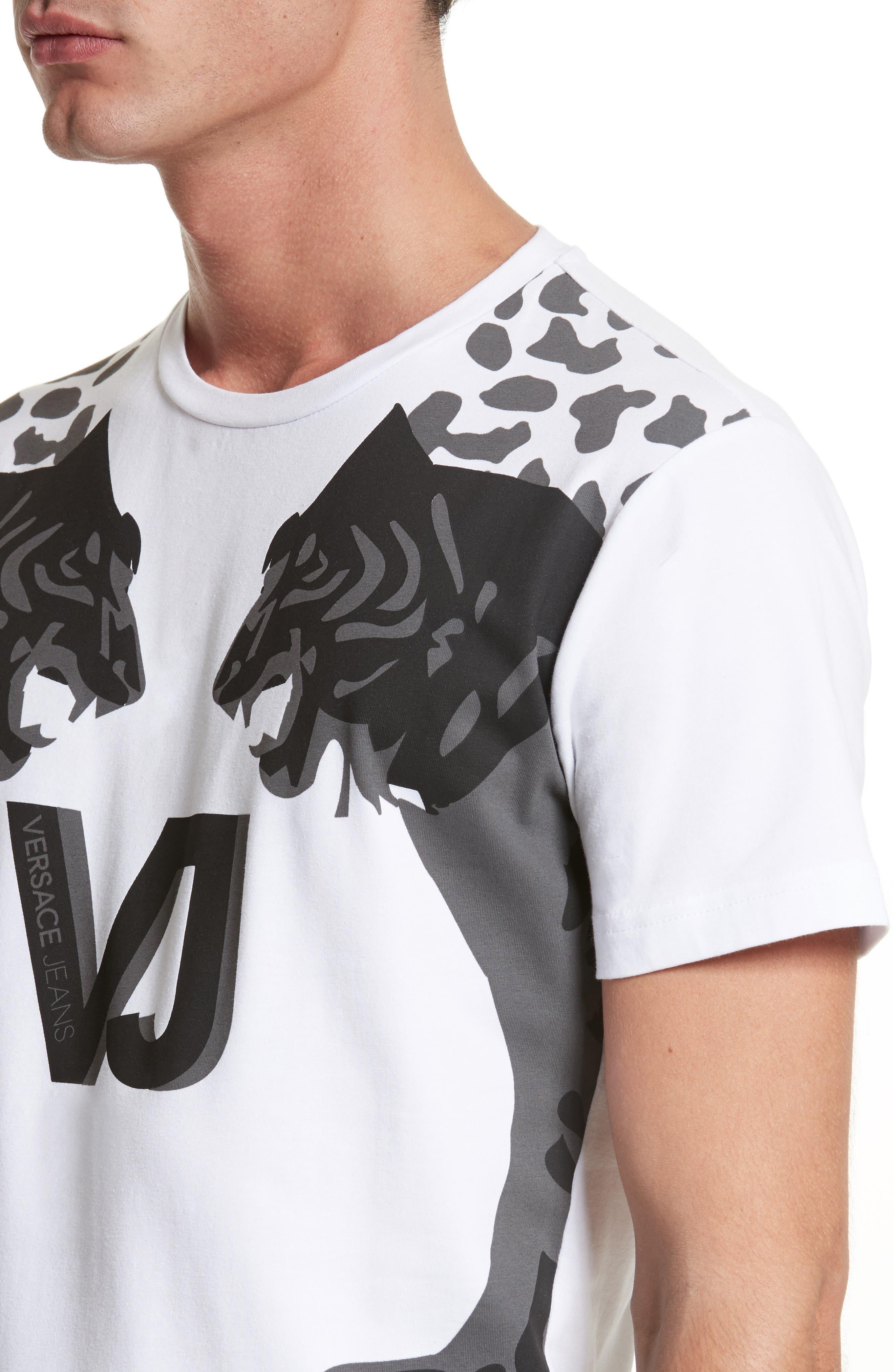 Print T-Shirt,                             Alternate thumbnail 4, color,                             100