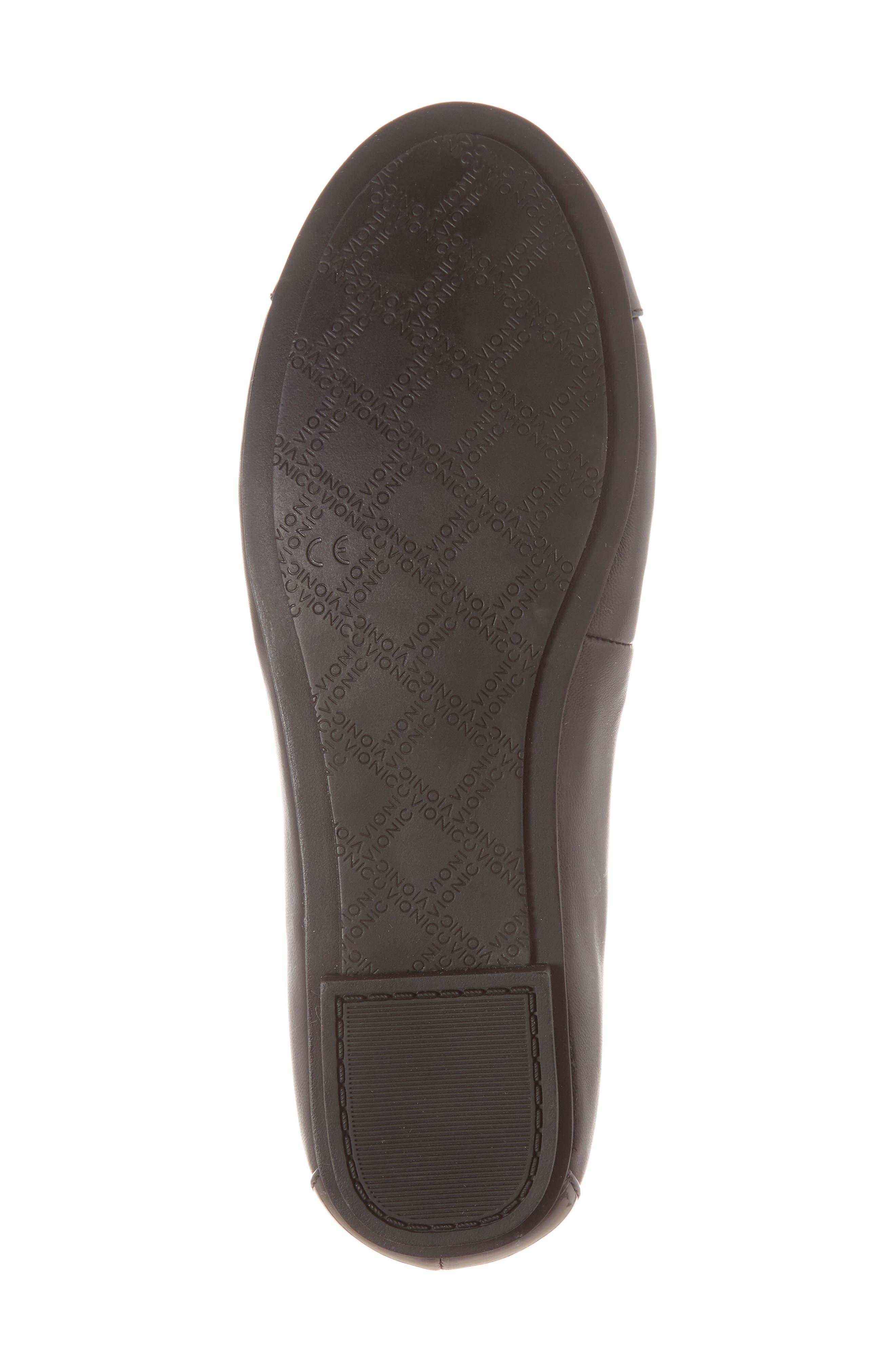 'Minna' Leather Flat,                             Alternate thumbnail 6, color,                             002