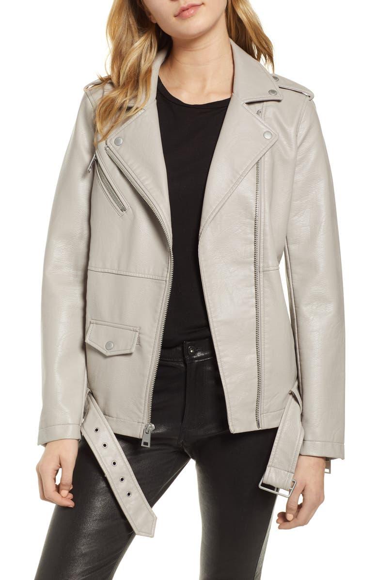 8ad921384b0 LEVI S SUP ®  SUP  Oversize Faux Leather Moto Jacket