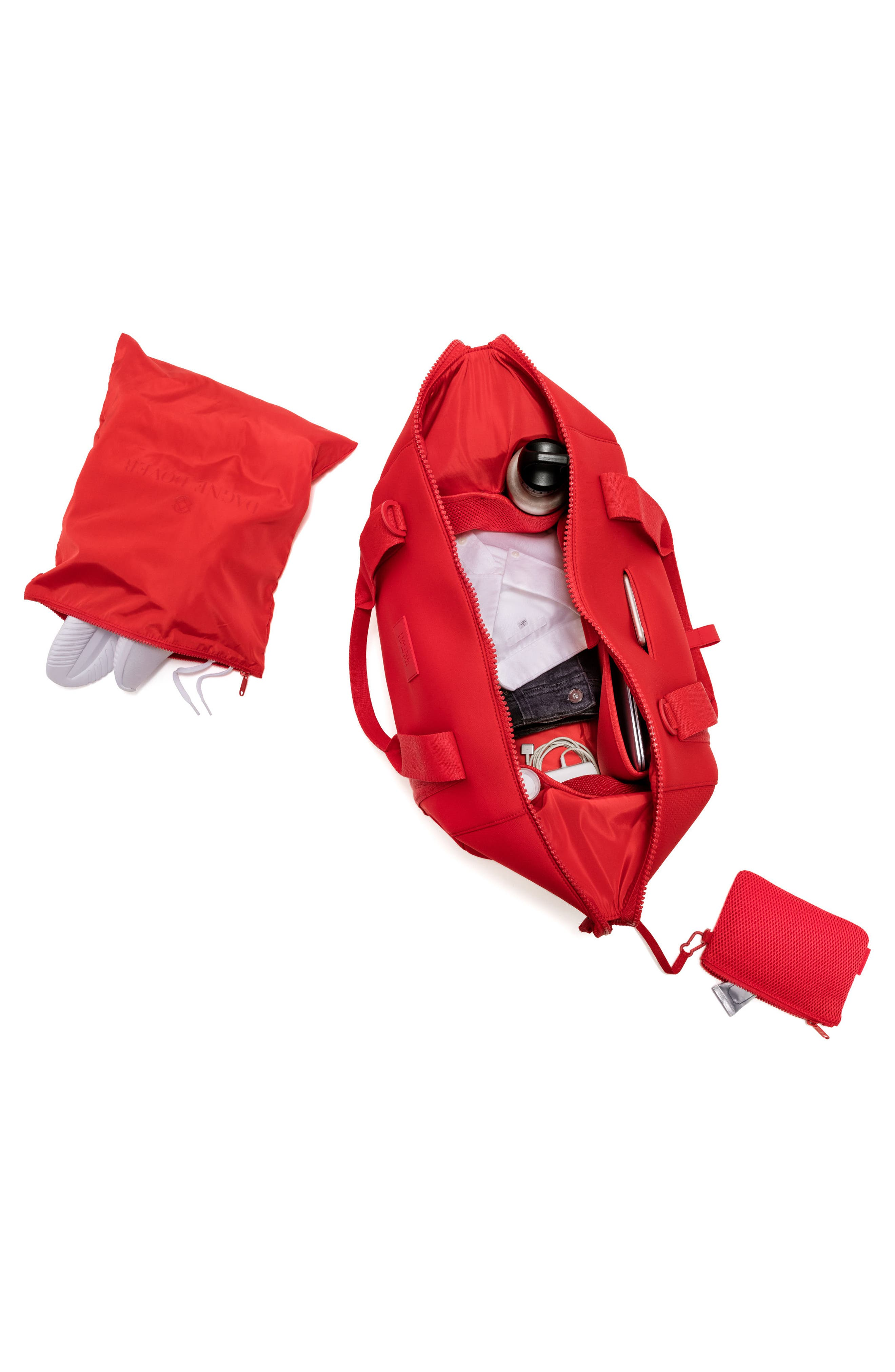 365 Large Landon Neoprene Carryall Duffel Bag,                             Alternate thumbnail 16, color,