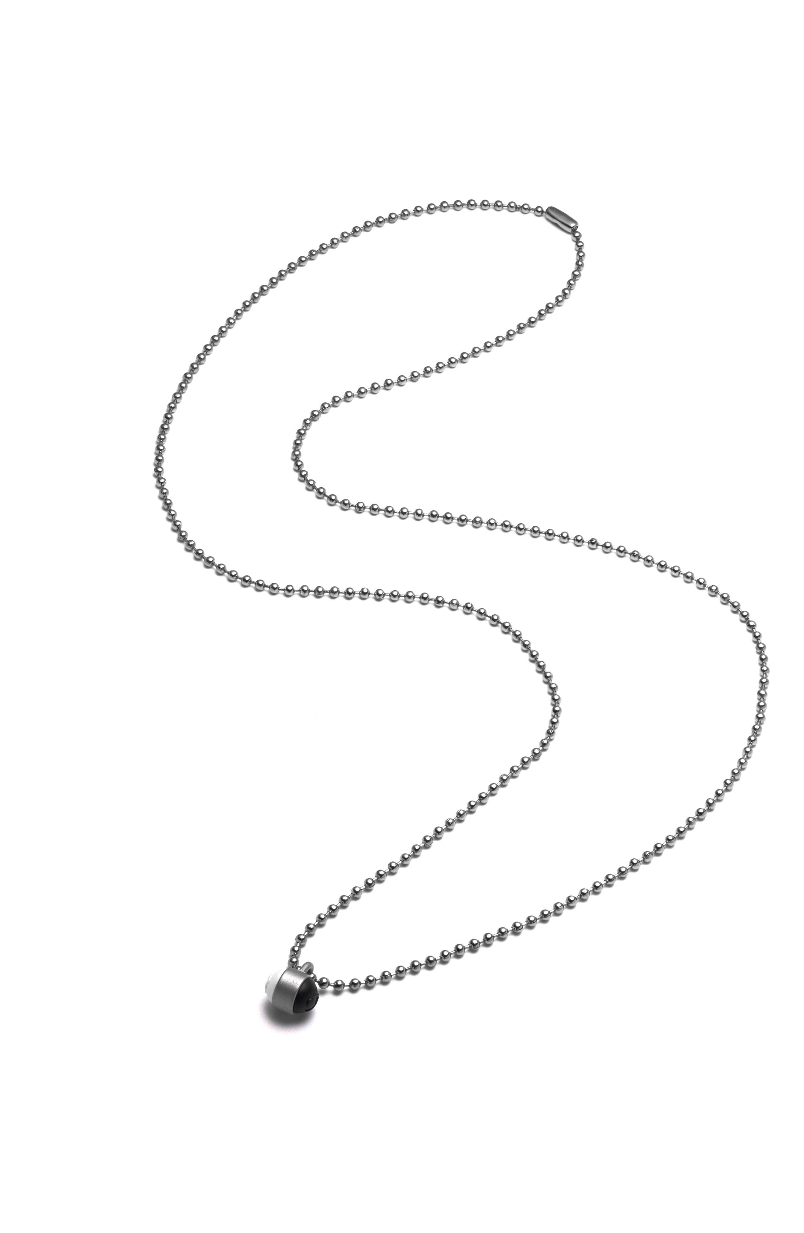 Pendant Ball Chain Necklace,                             Alternate thumbnail 10, color,