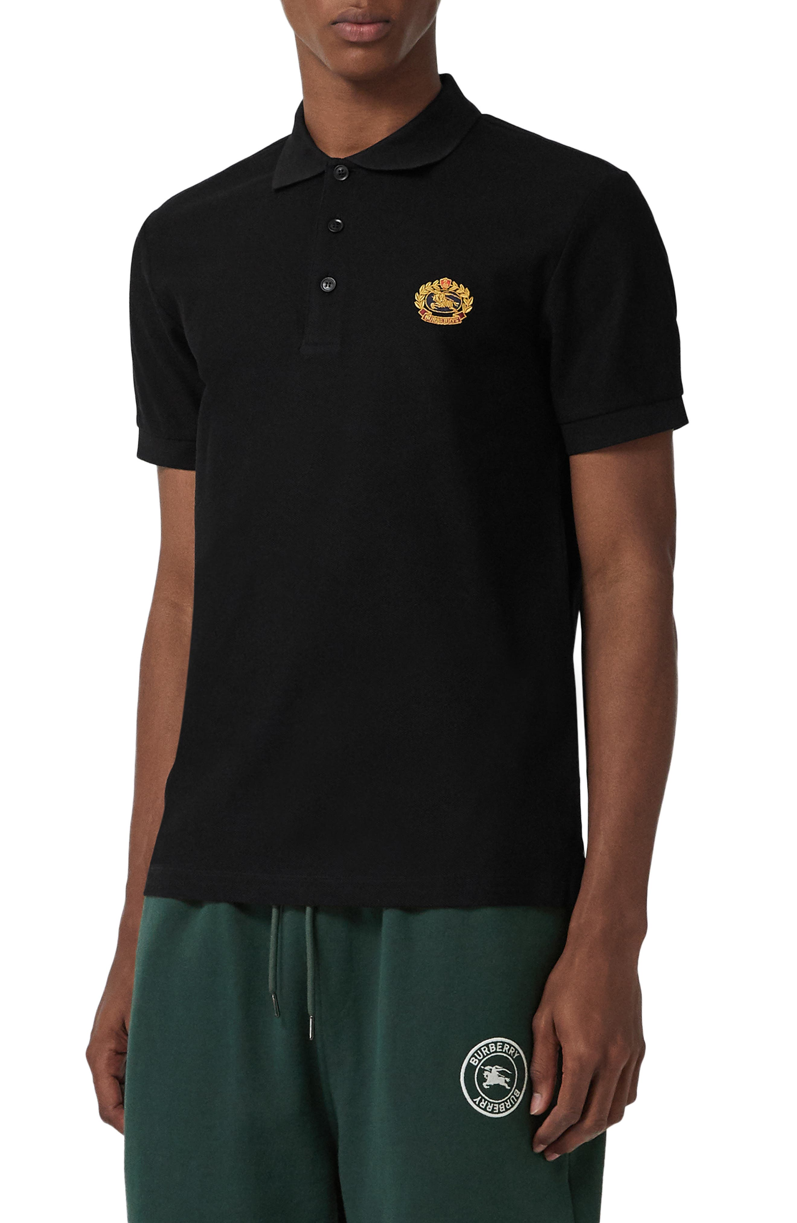 Densford Piqué Polo,                         Main,                         color, 001
