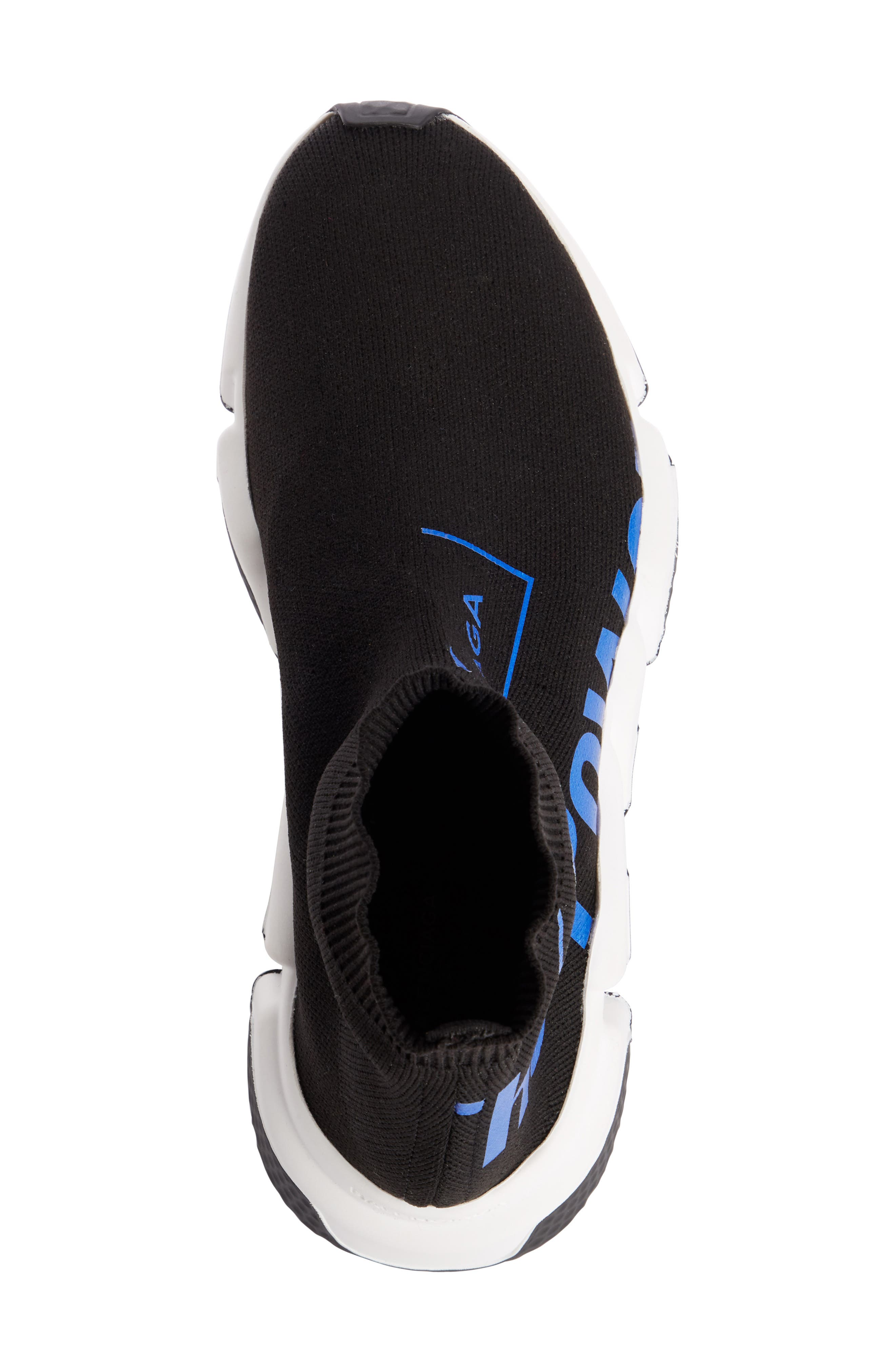 Dream Speed Trainer Sneaker,                             Alternate thumbnail 4, color,                             BLACK/ BLUE
