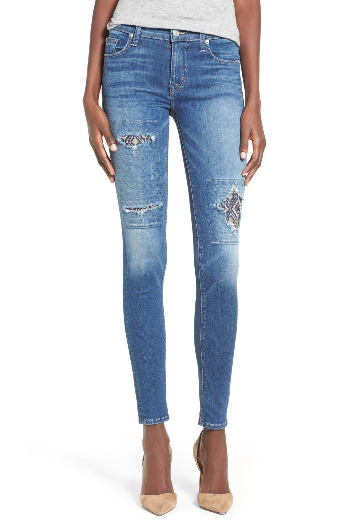 'Nico' Super Skinny Jeans,                             Main thumbnail 3, color,