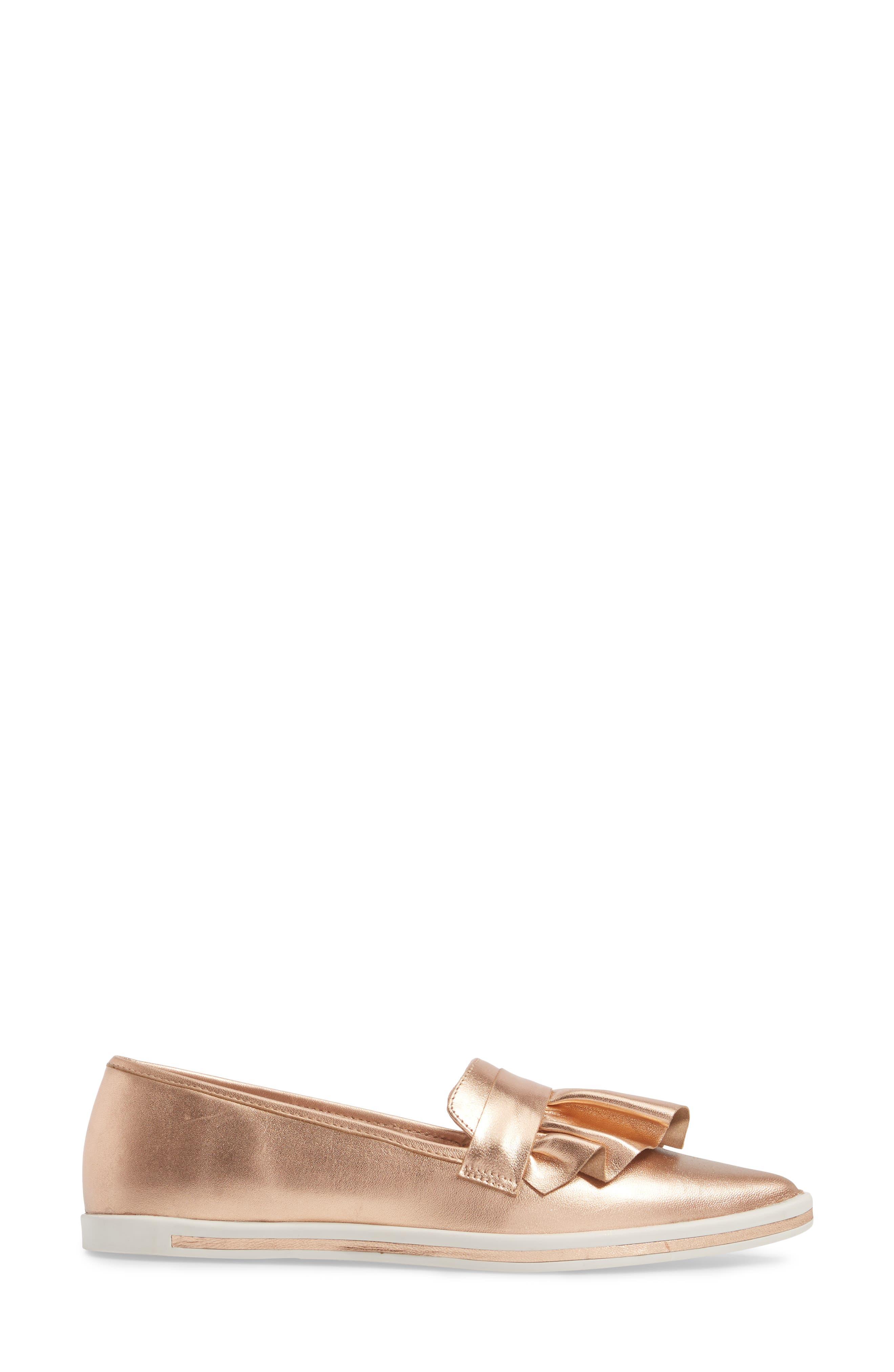 Taraji Ruffle Slip-On Sneaker,                             Alternate thumbnail 12, color,