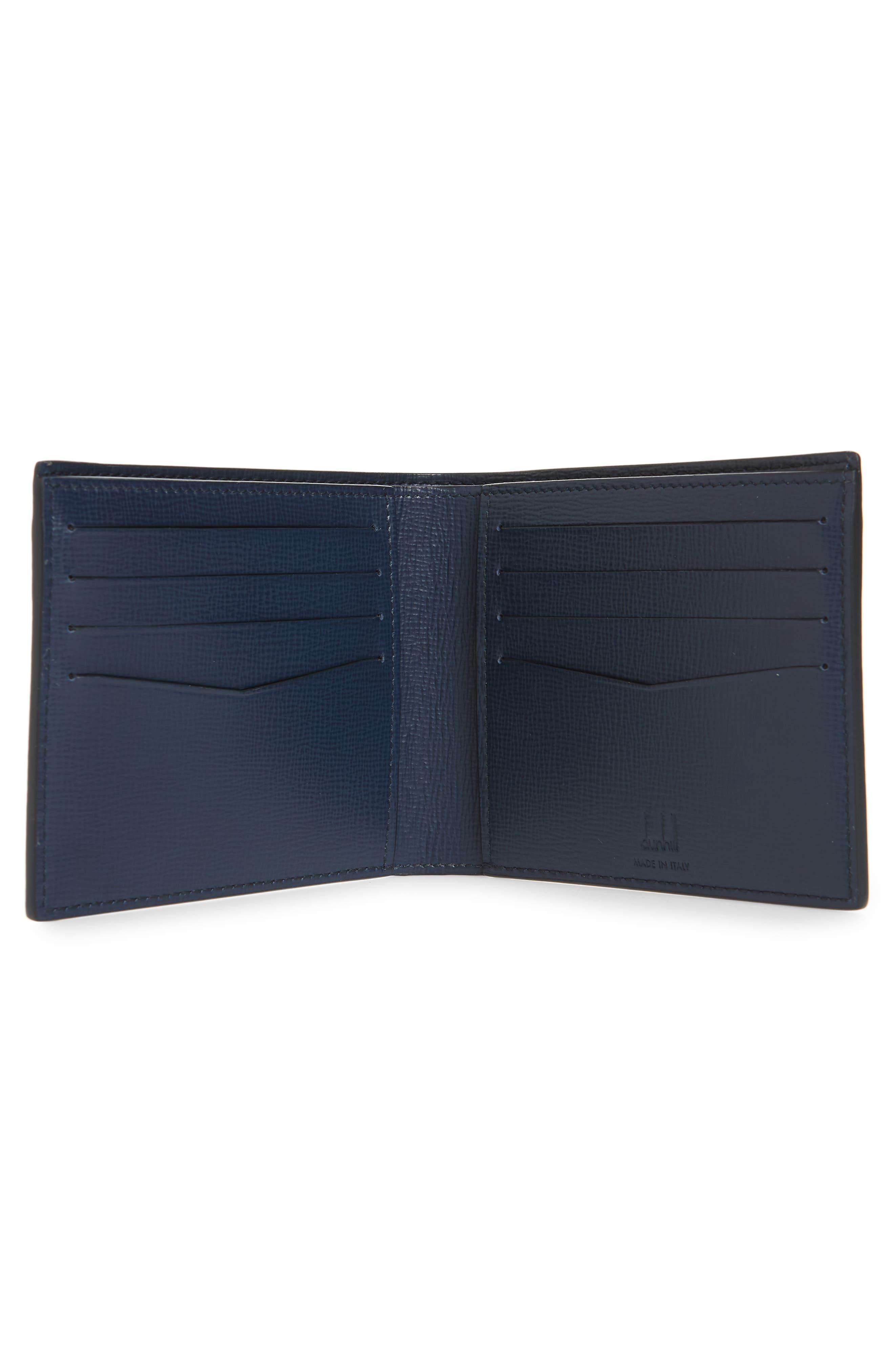 Cadogan Leather Wallet,                             Alternate thumbnail 2, color,                             BLUE