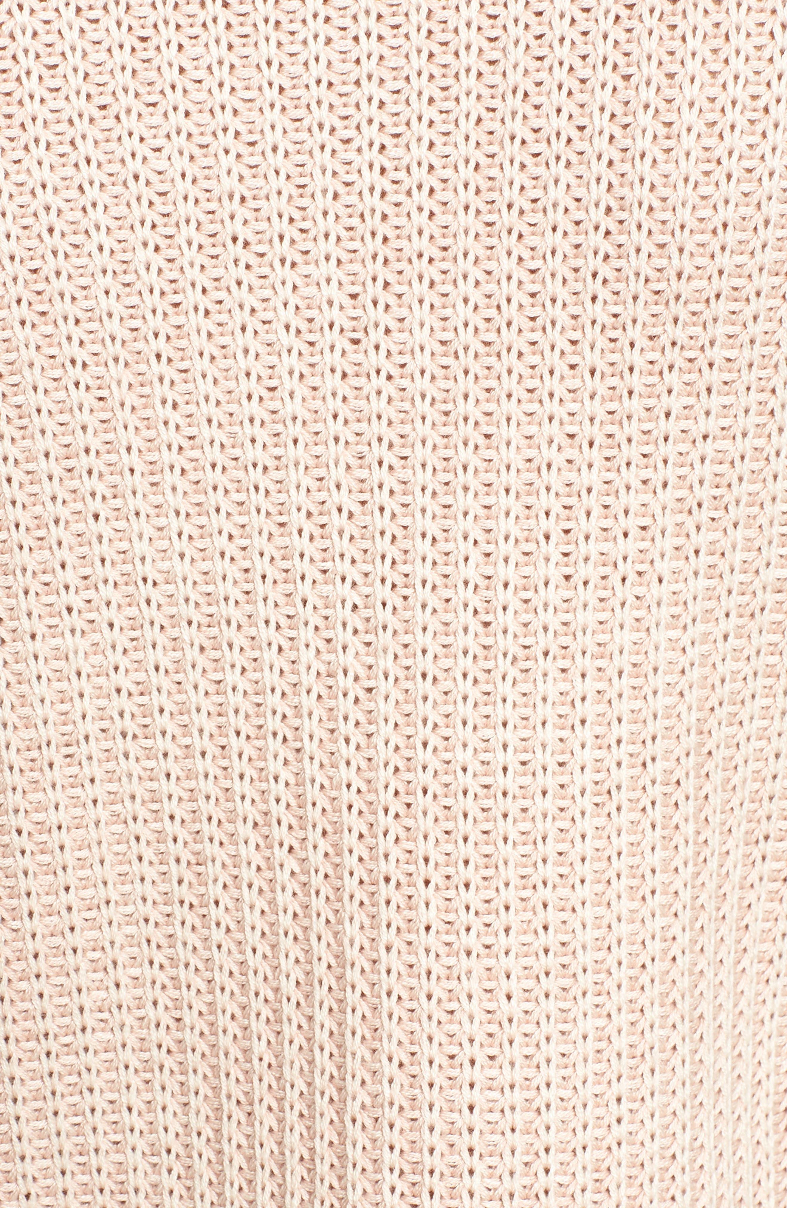 Mika Cold Shoulder Sweater,                             Alternate thumbnail 5, color,                             681