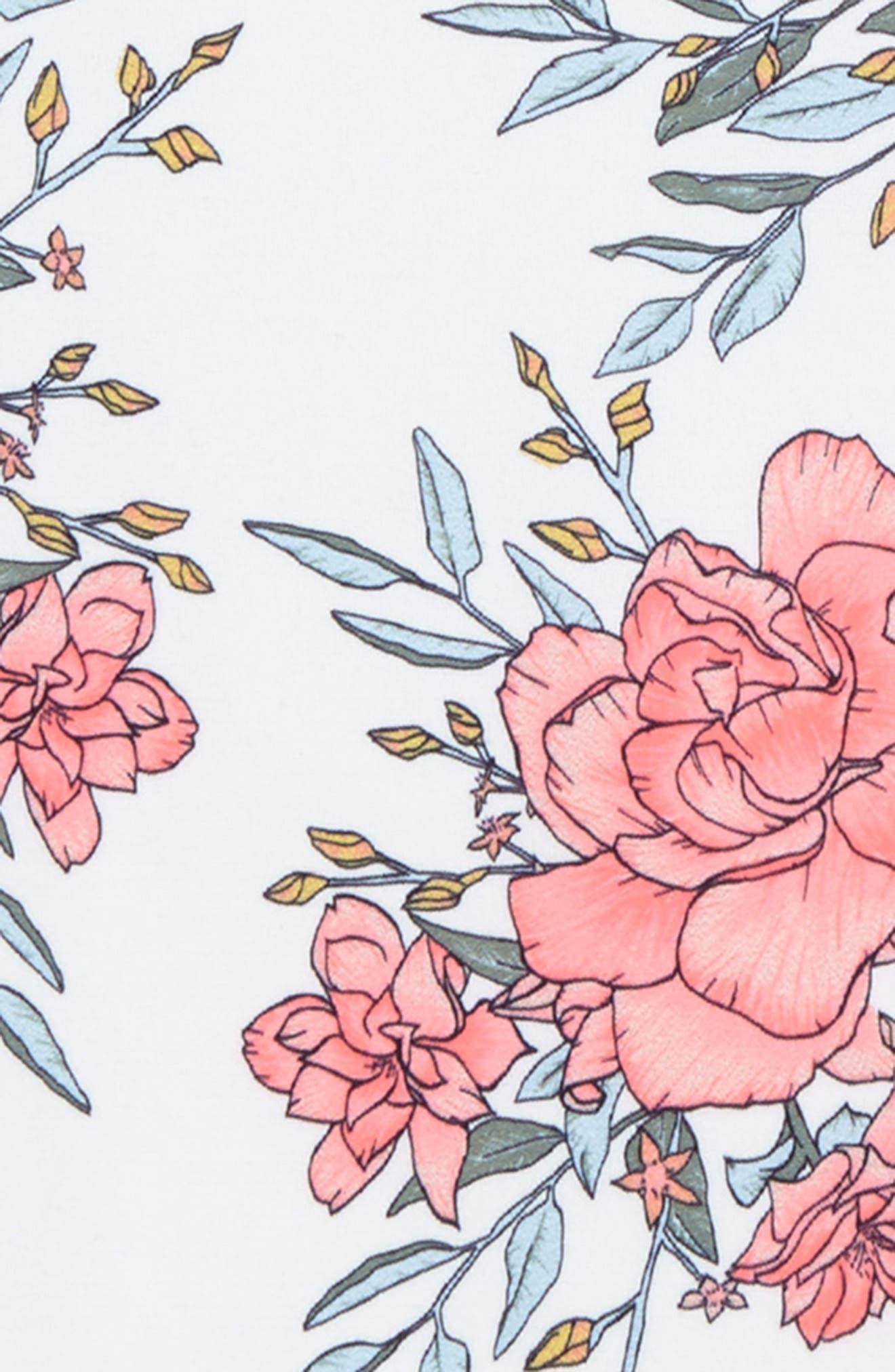 Nova Floral One-Piece Swimsuit,                             Alternate thumbnail 2, color,