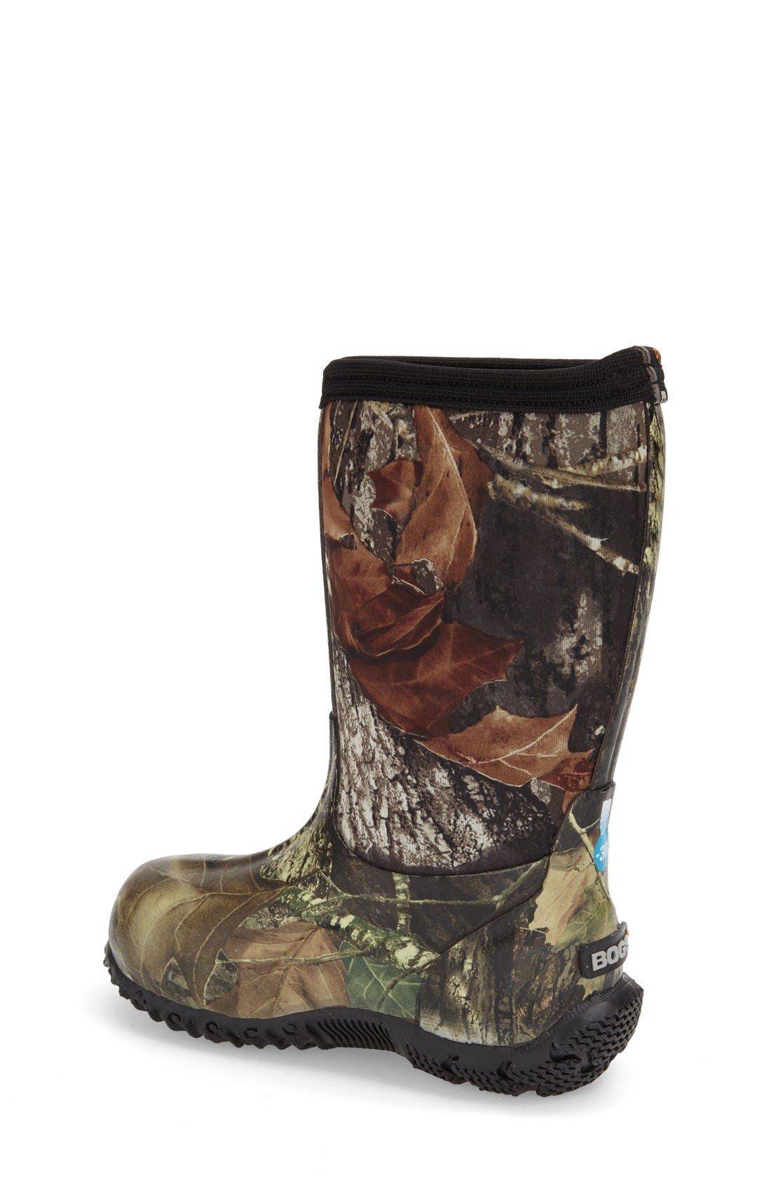 Classic High Insulated Waterproof Boot,                             Alternate thumbnail 2, color,                             MOSSY OAK