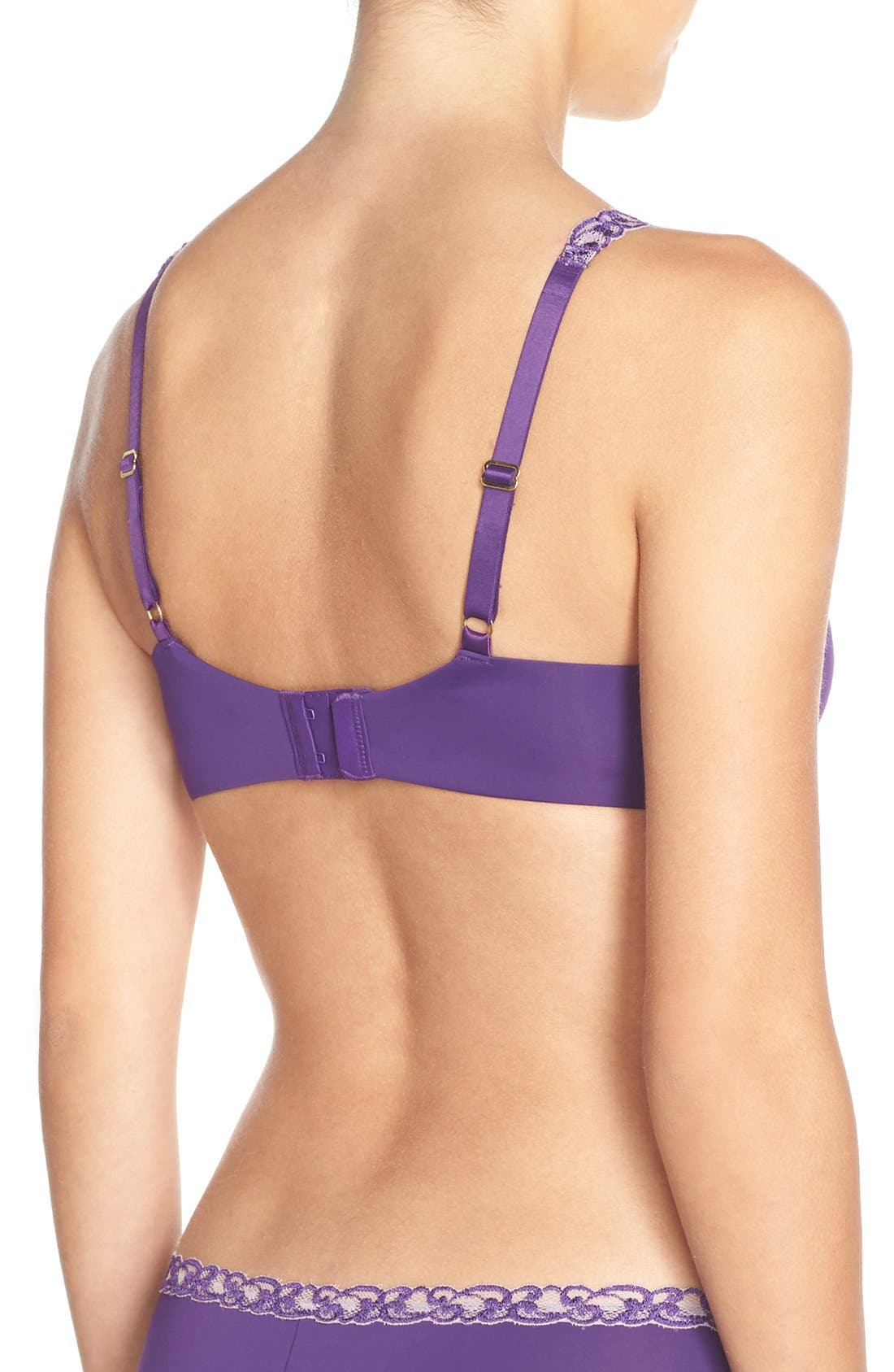 'Pure Luxe' Underwire T-Shirt Bra,                             Alternate thumbnail 87, color,