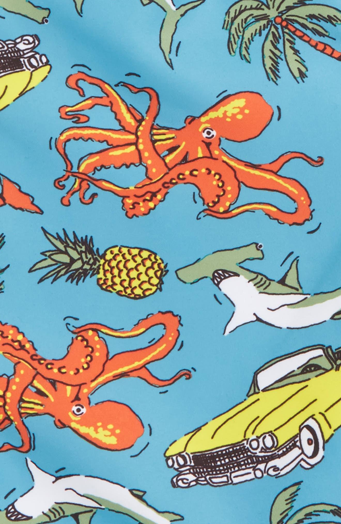 'Sand 'N My Trunks' Swim Trunks,                             Alternate thumbnail 49, color,
