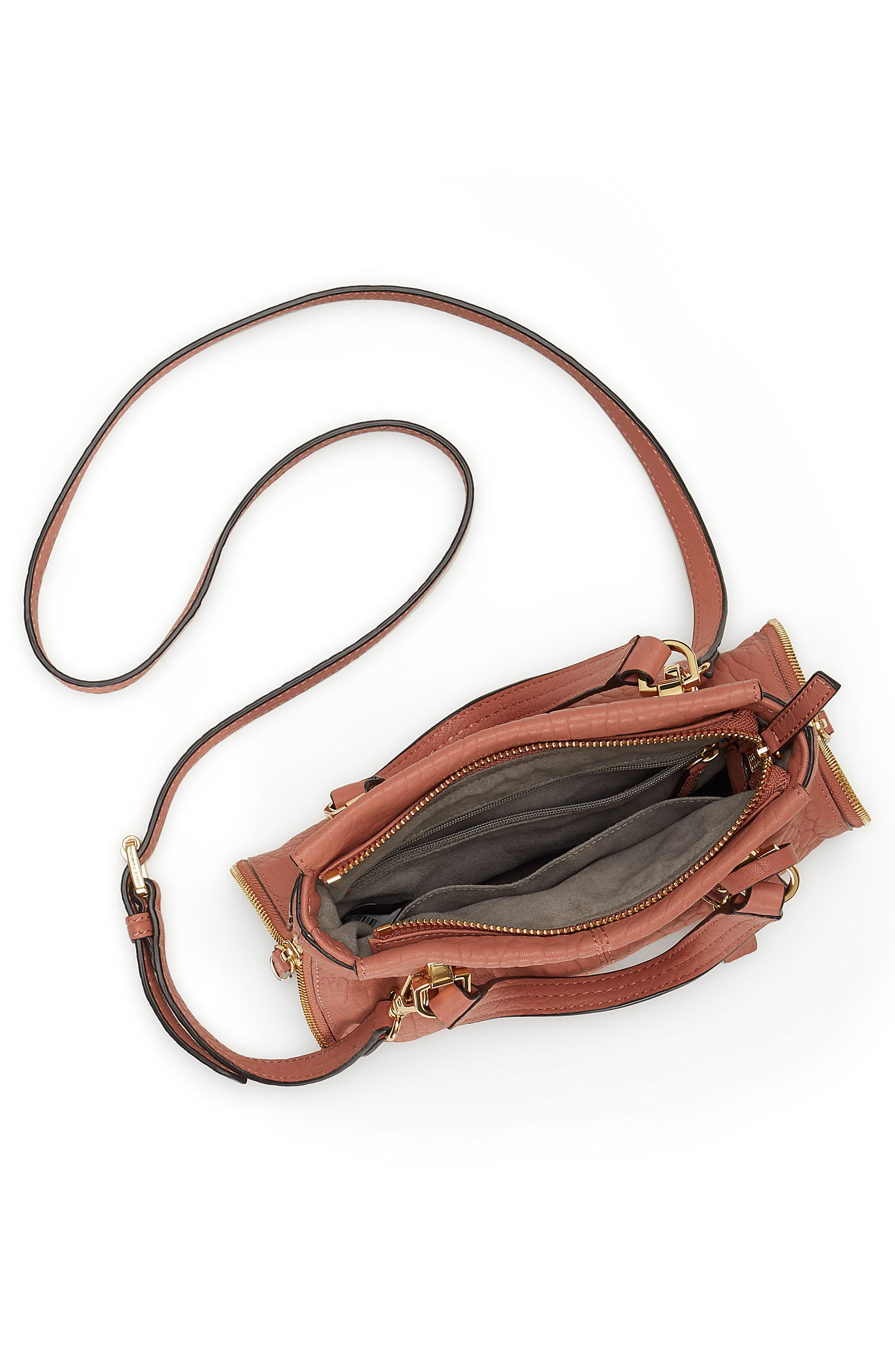 Small Riley Leather Tote,                             Alternate thumbnail 9, color,