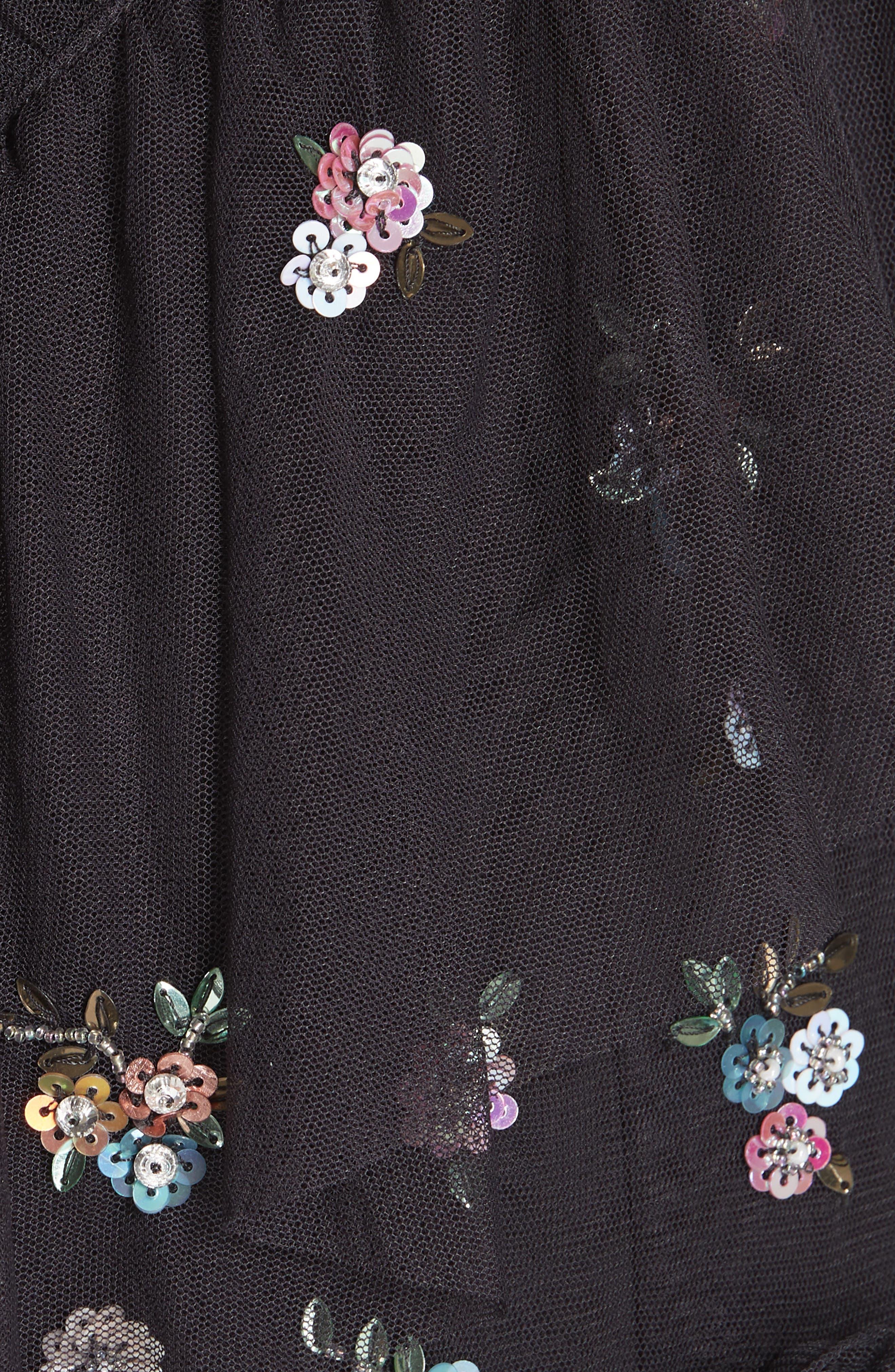 Lustre Cold Shoulder Dress,                             Alternate thumbnail 5, color,                             GRAPHITE