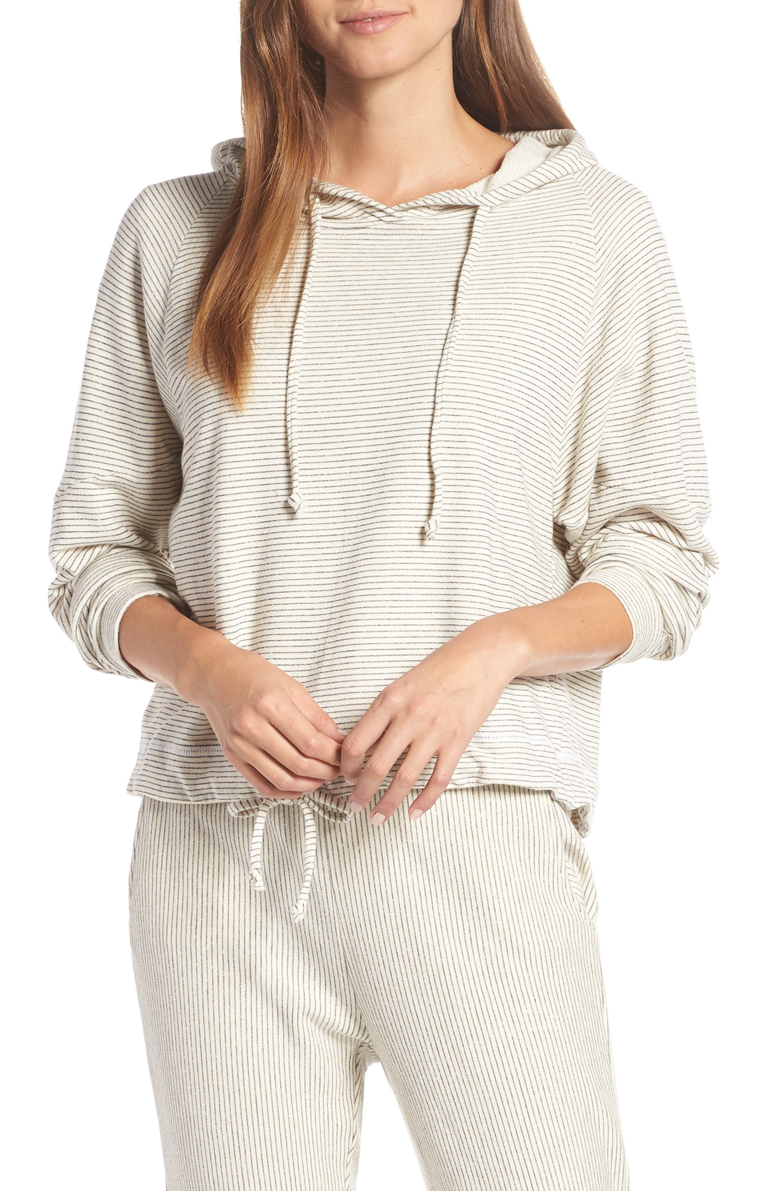 Apparel Atwater Stripe Hoodie,                             Main thumbnail 1, color,                             NATURAL