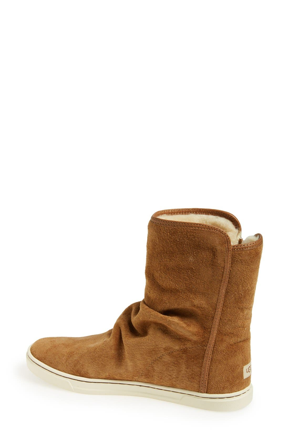 Australia 'Becky' Water Resistant Suede Boot,                             Alternate thumbnail 4, color,