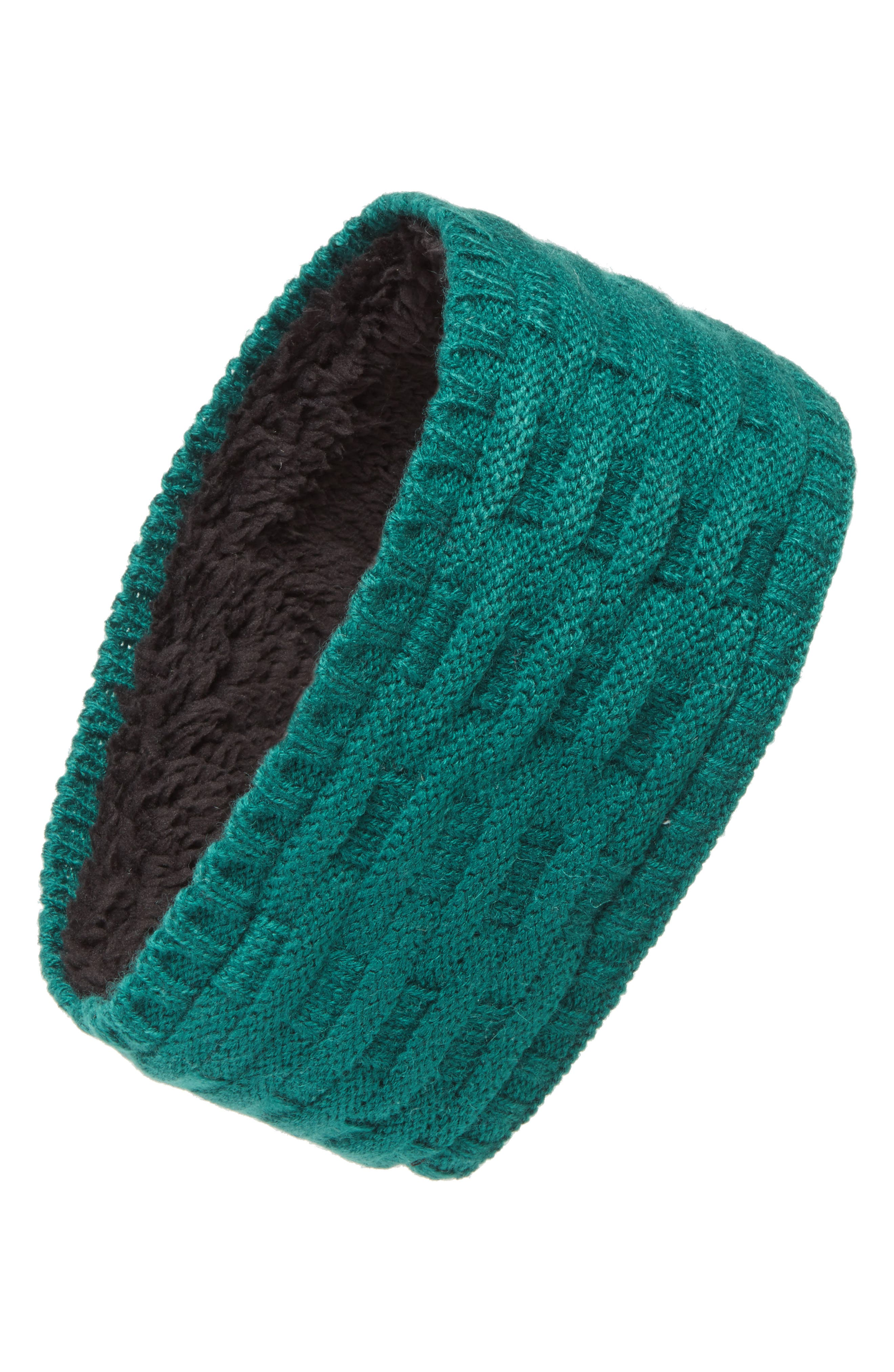 Cross Cable Knit Headband,                             Main thumbnail 4, color,