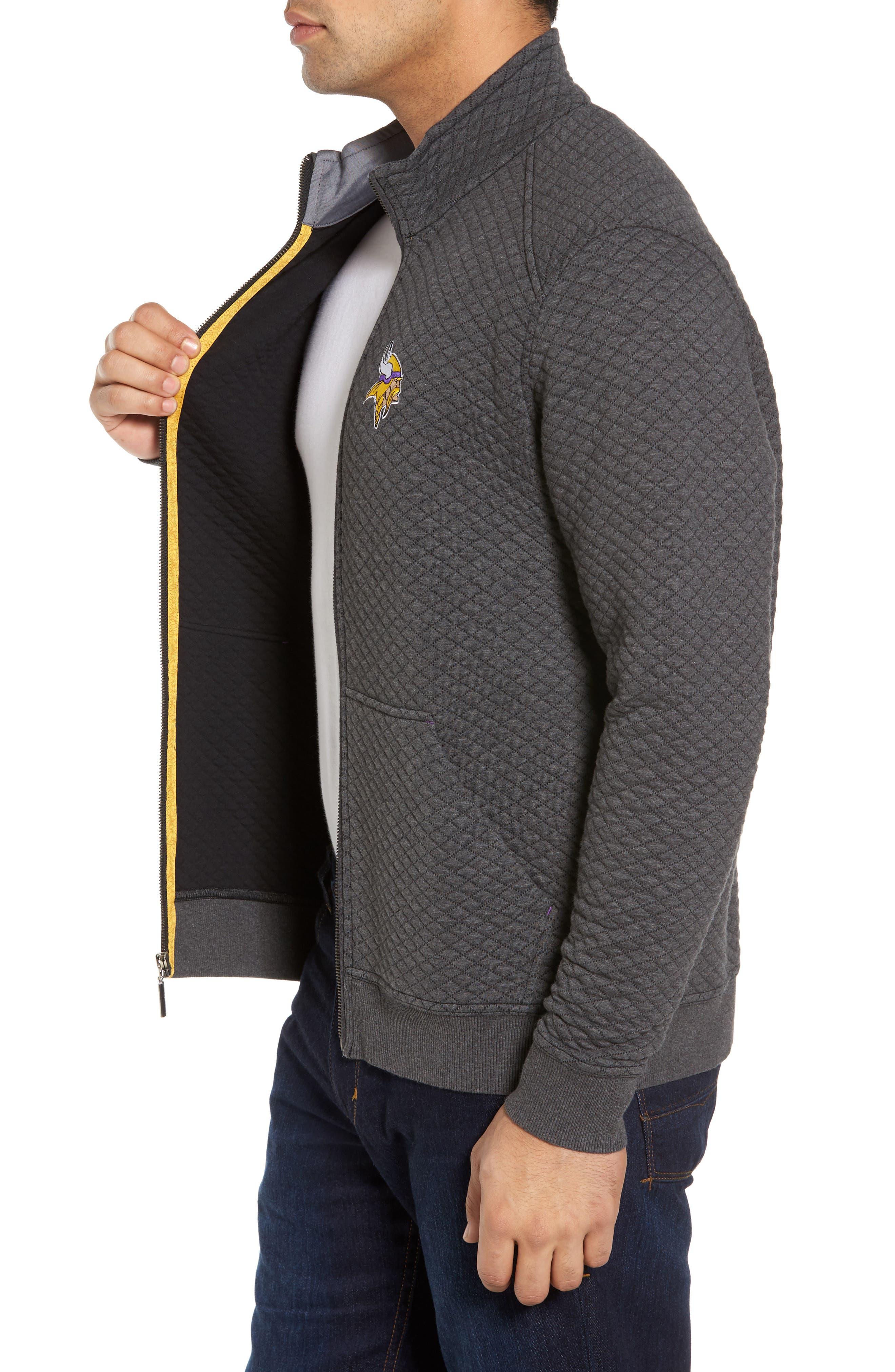 NFL Quiltessential Full Zip Sweatshirt,                             Alternate thumbnail 93, color,