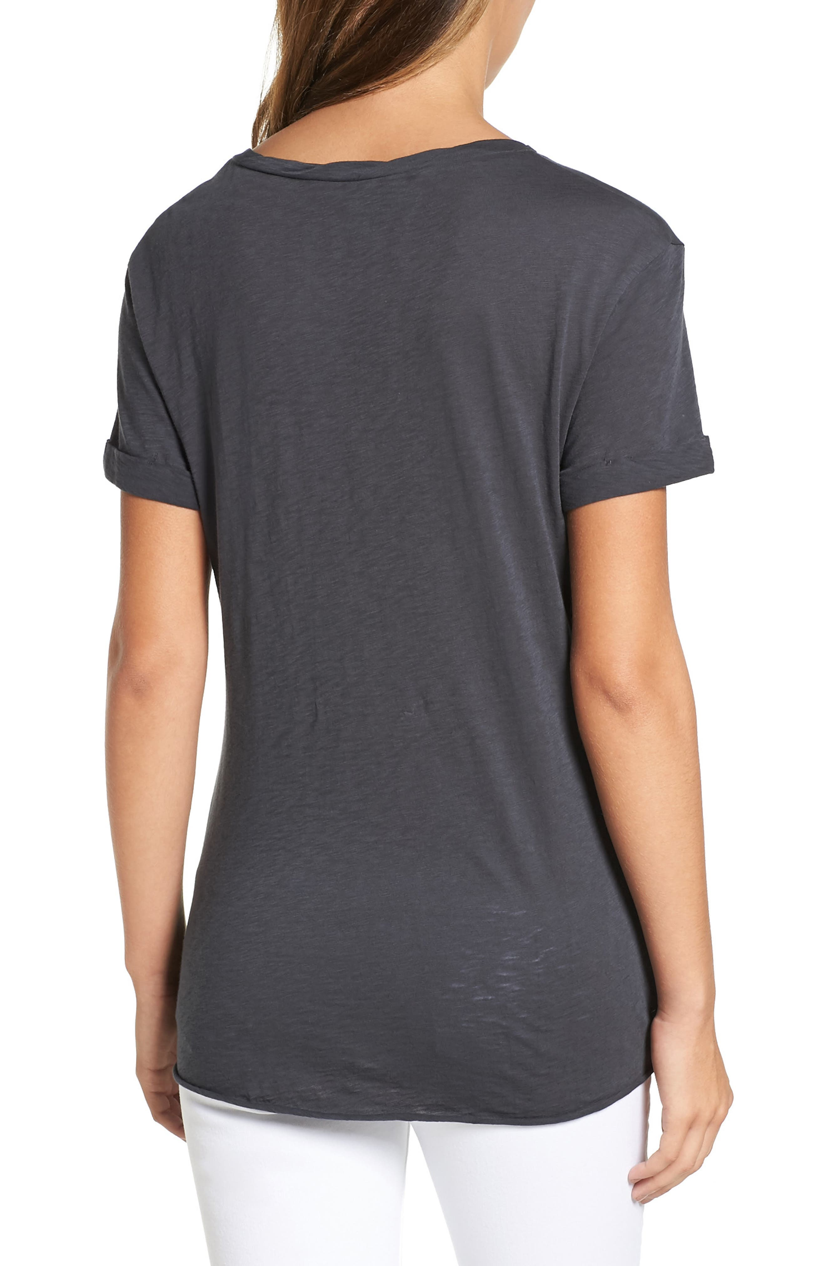 Knotted Tee,                             Alternate thumbnail 17, color,