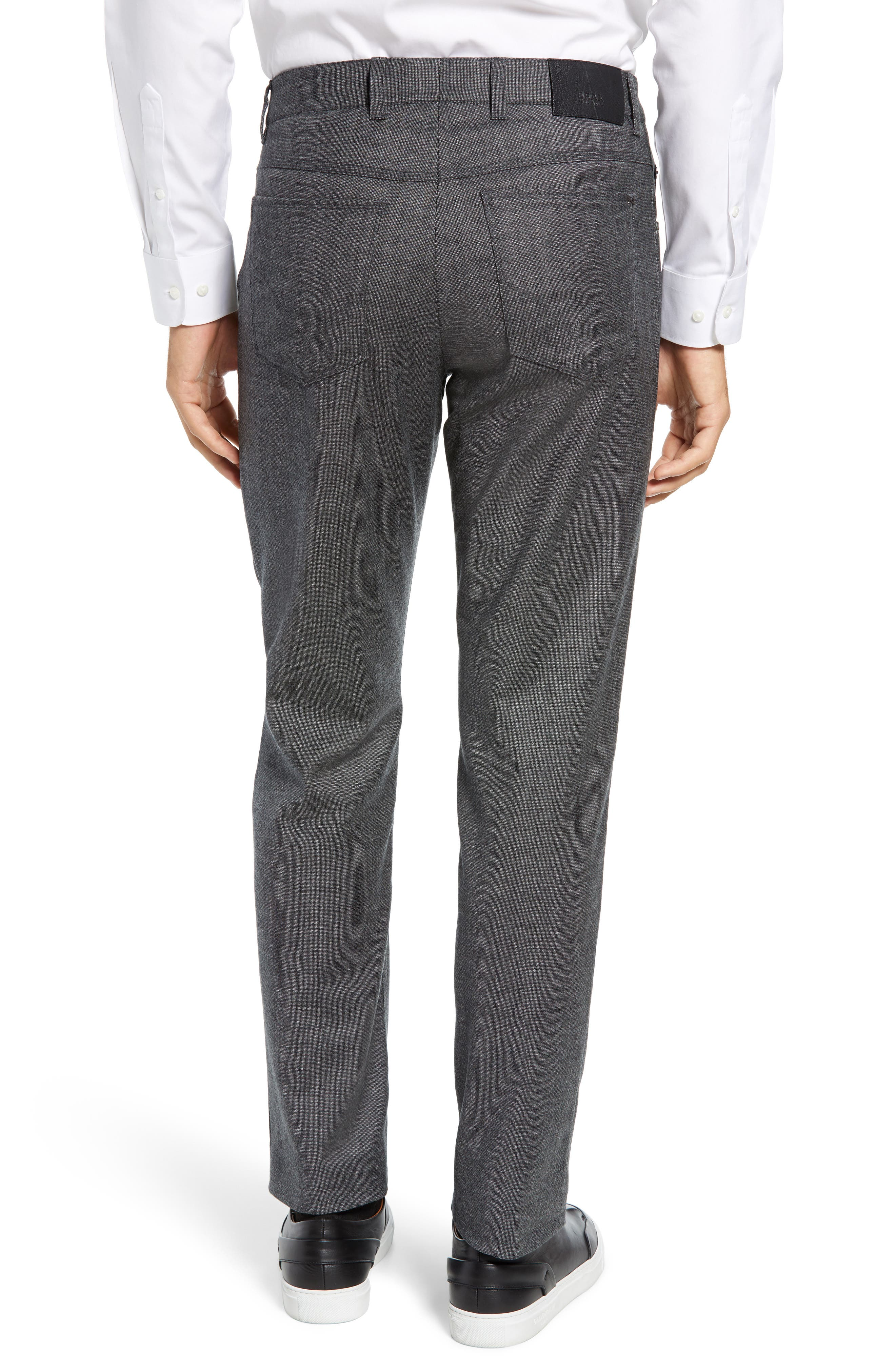 Cadiz Five Pocket Stretch Wool Trousers,                             Alternate thumbnail 2, color,                             GRAPHITE
