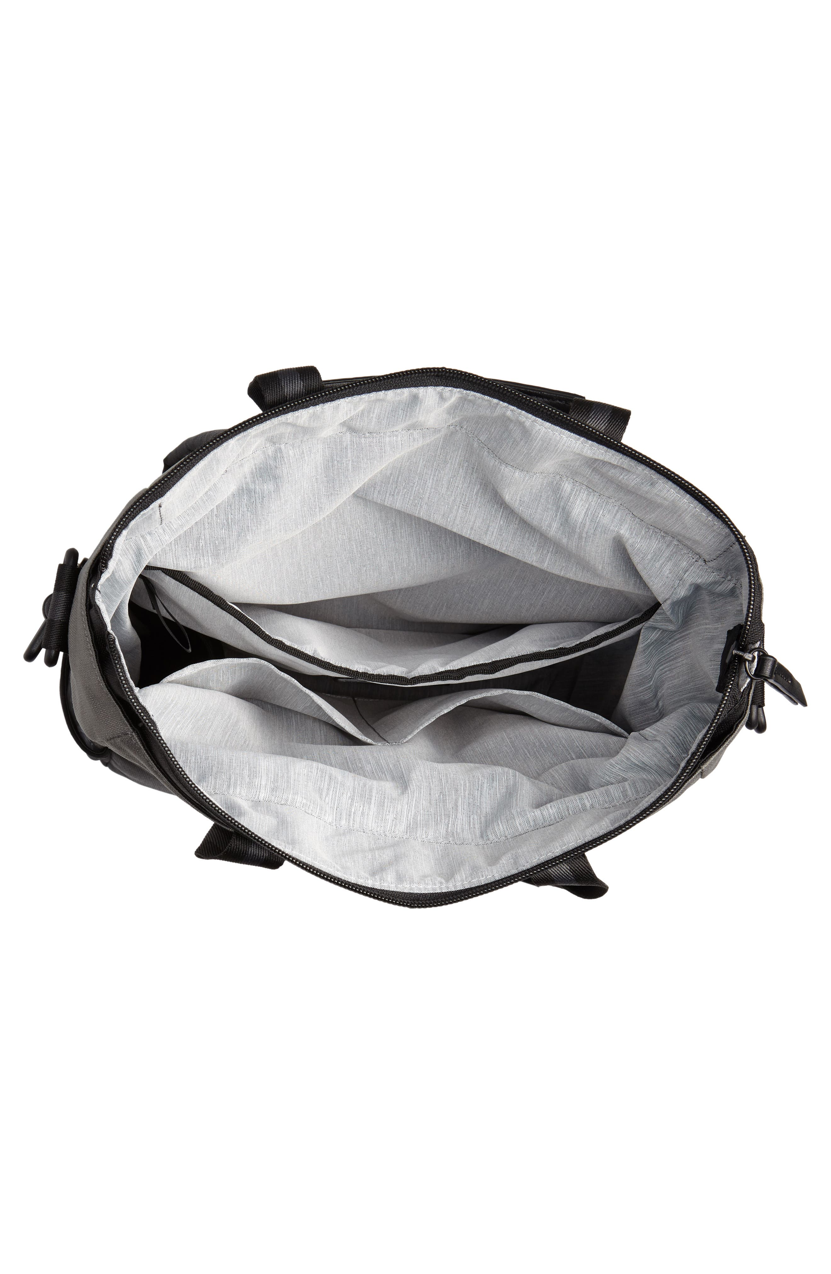 Camden RFID Convertible Backpack,                             Alternate thumbnail 6, color,                             GREY FLINT/ BLACK