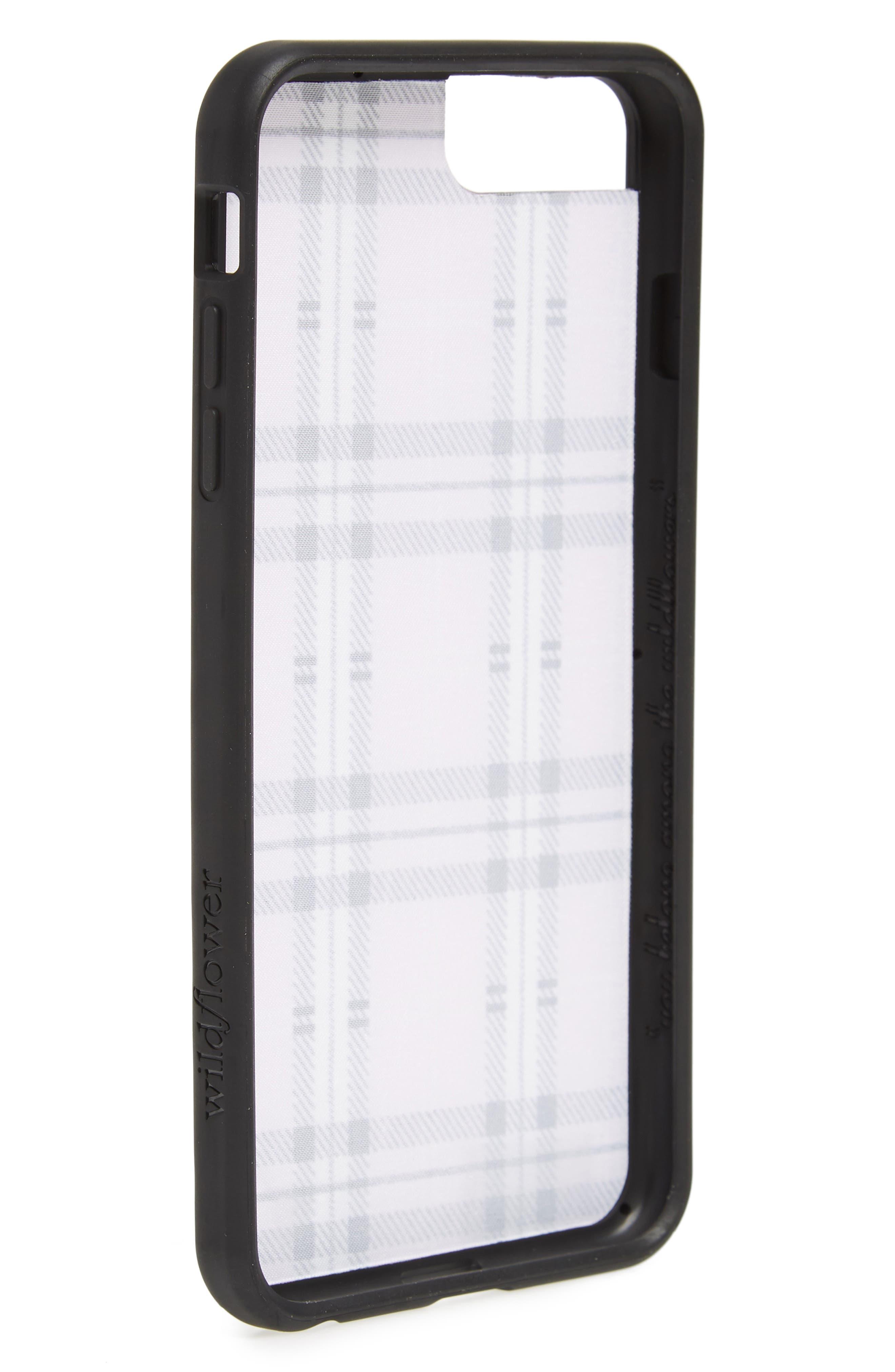 Tartan Plaid iPhone 6/7/8 Plus Case,                             Alternate thumbnail 2, color,                             LAVENDER