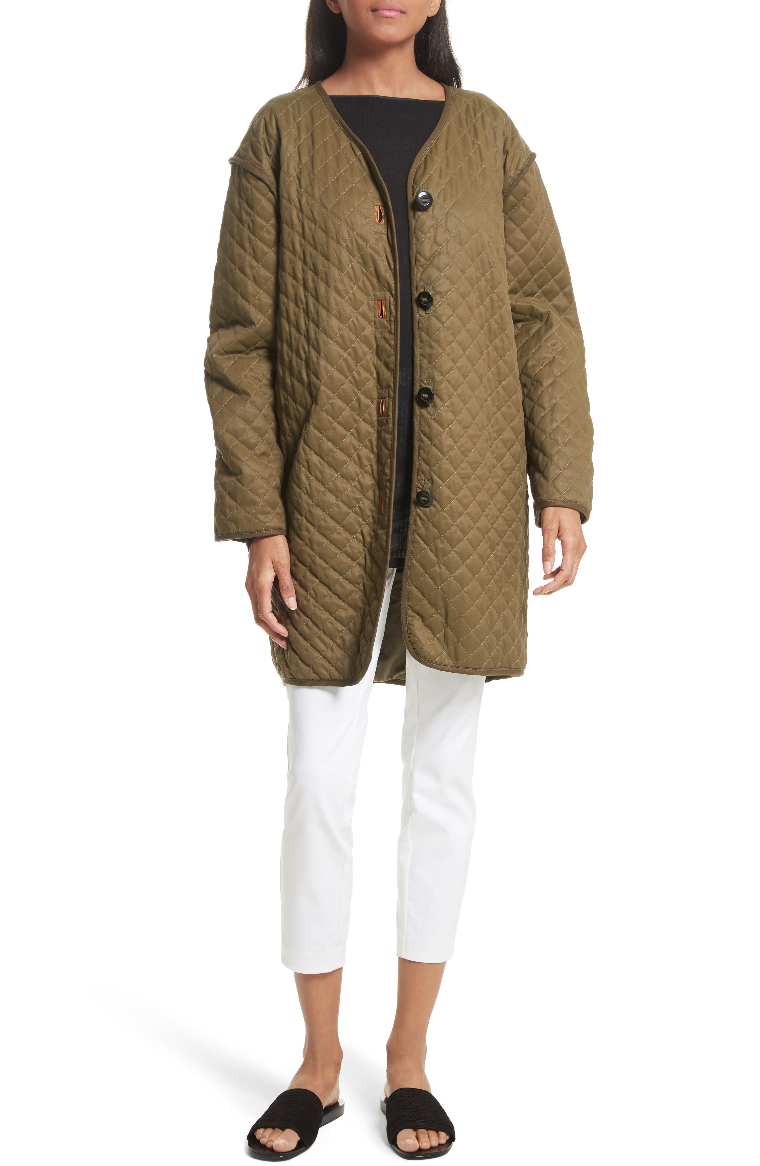 Rosa Quilted Liner Jacket,                             Alternate thumbnail 6, color,                             325