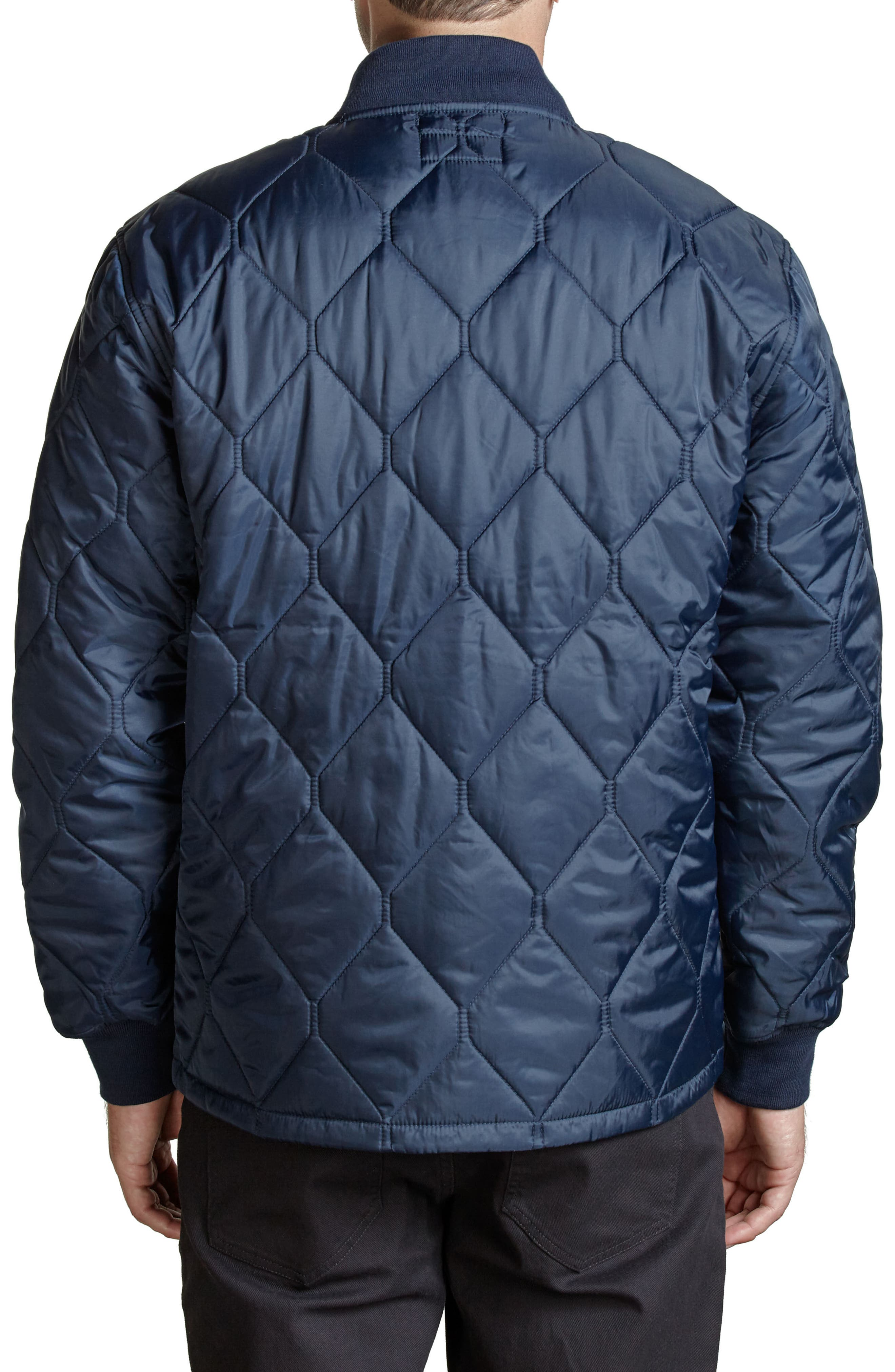 Crawford Quilted Jacket,                             Alternate thumbnail 8, color,