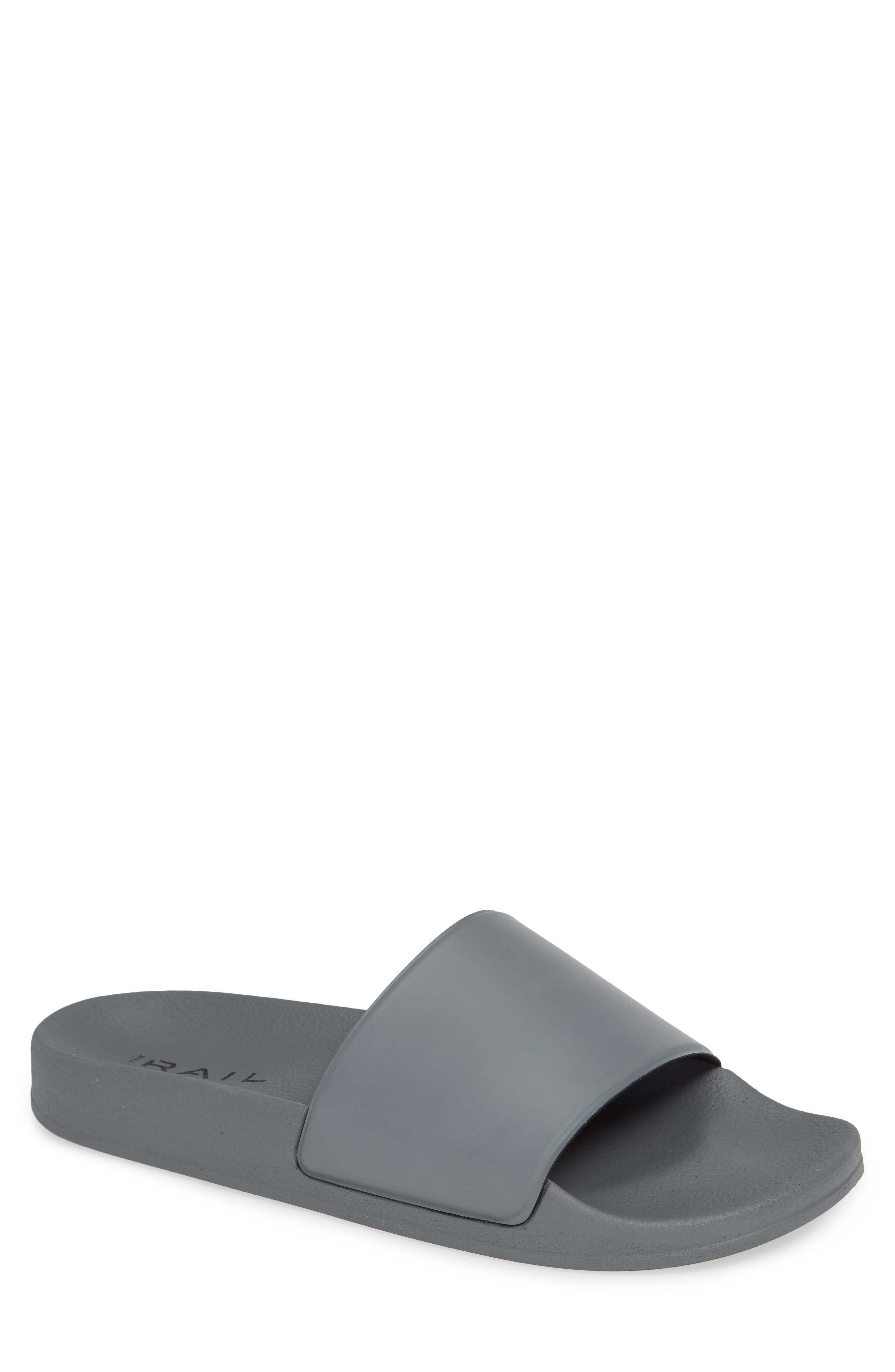Bondi Slide Sandal,                             Main thumbnail 1, color,                             GREY