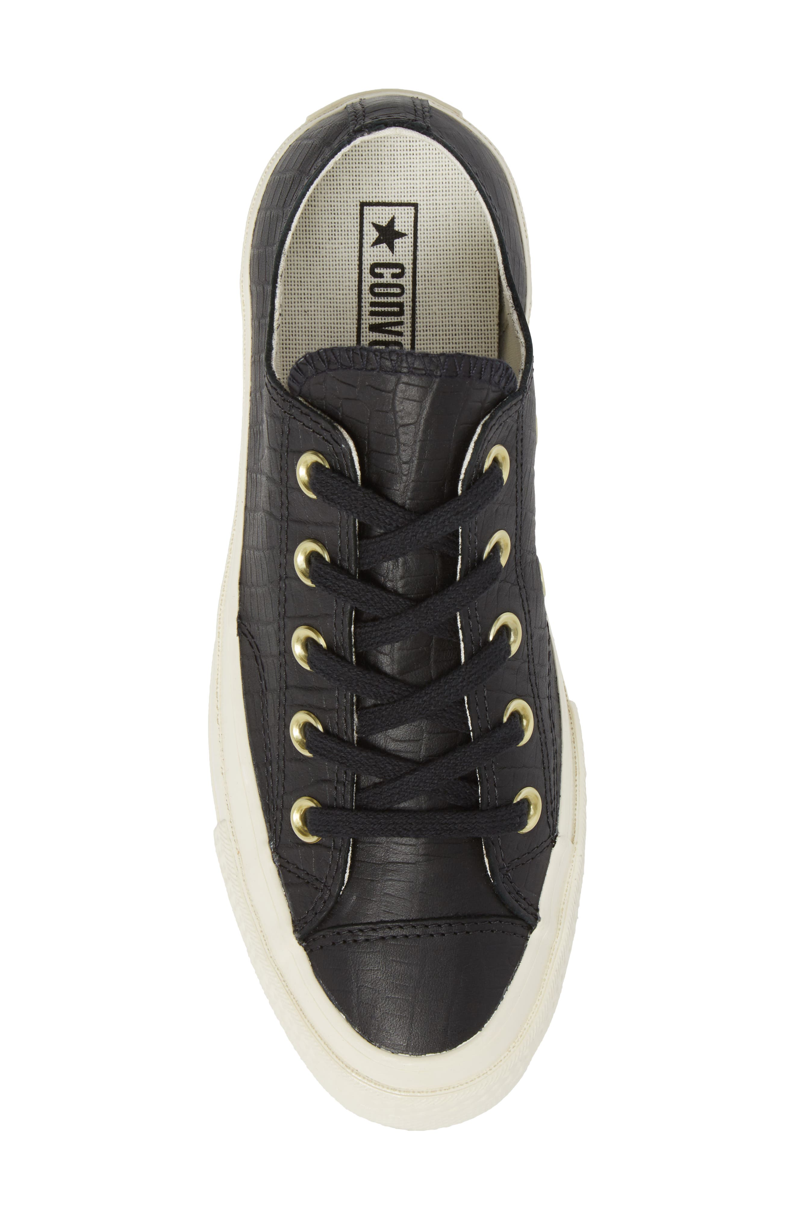 CT 70 Reptile Low Top Sneaker,                             Alternate thumbnail 5, color,                             001