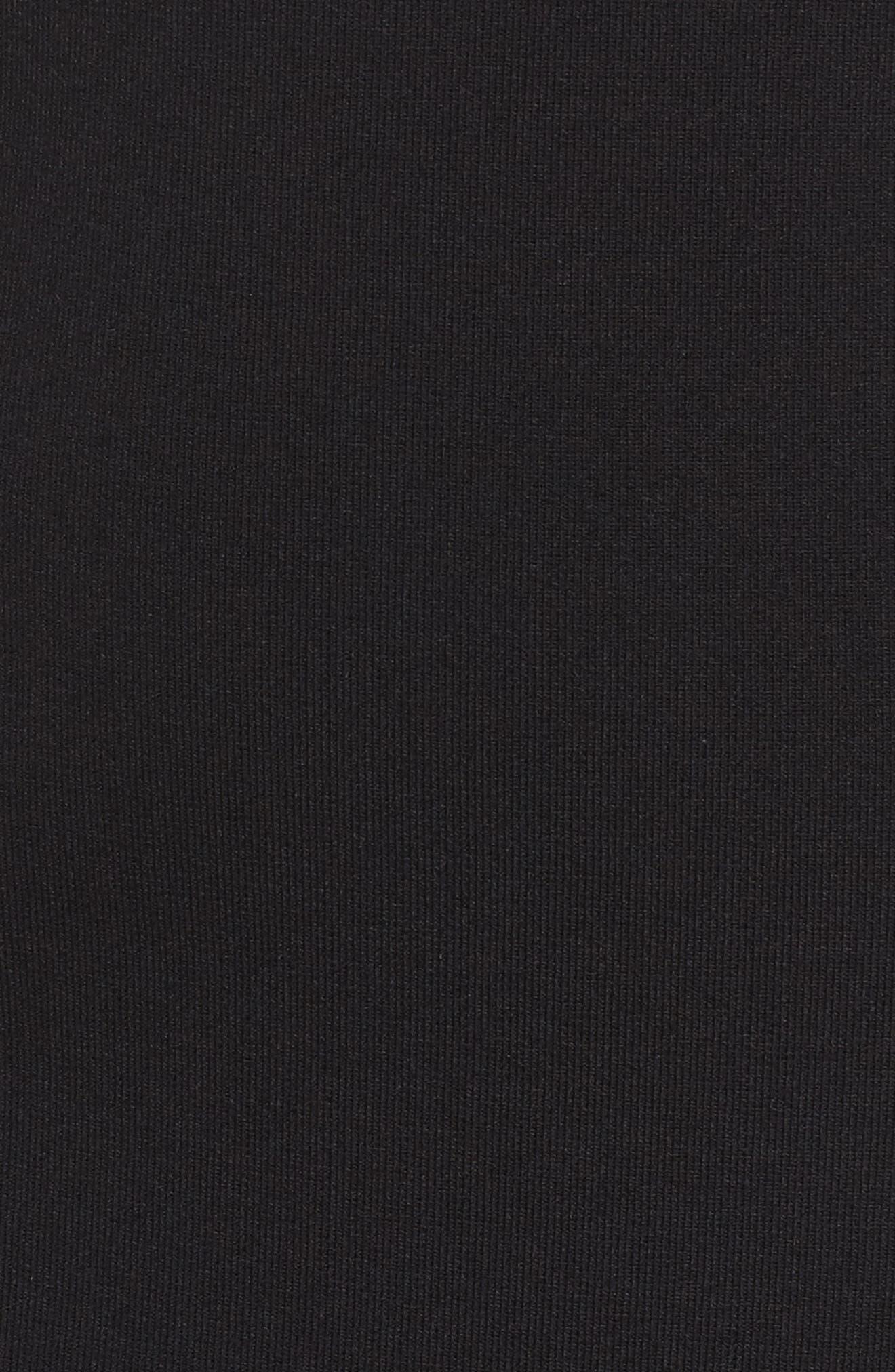 Studded Asymmetrical Dress,                             Alternate thumbnail 5, color,                             004