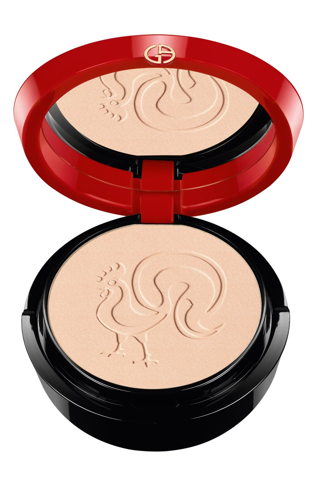 Chinese New Year Armani Glow Face Powder Compact,                             Main thumbnail 1, color,                             000