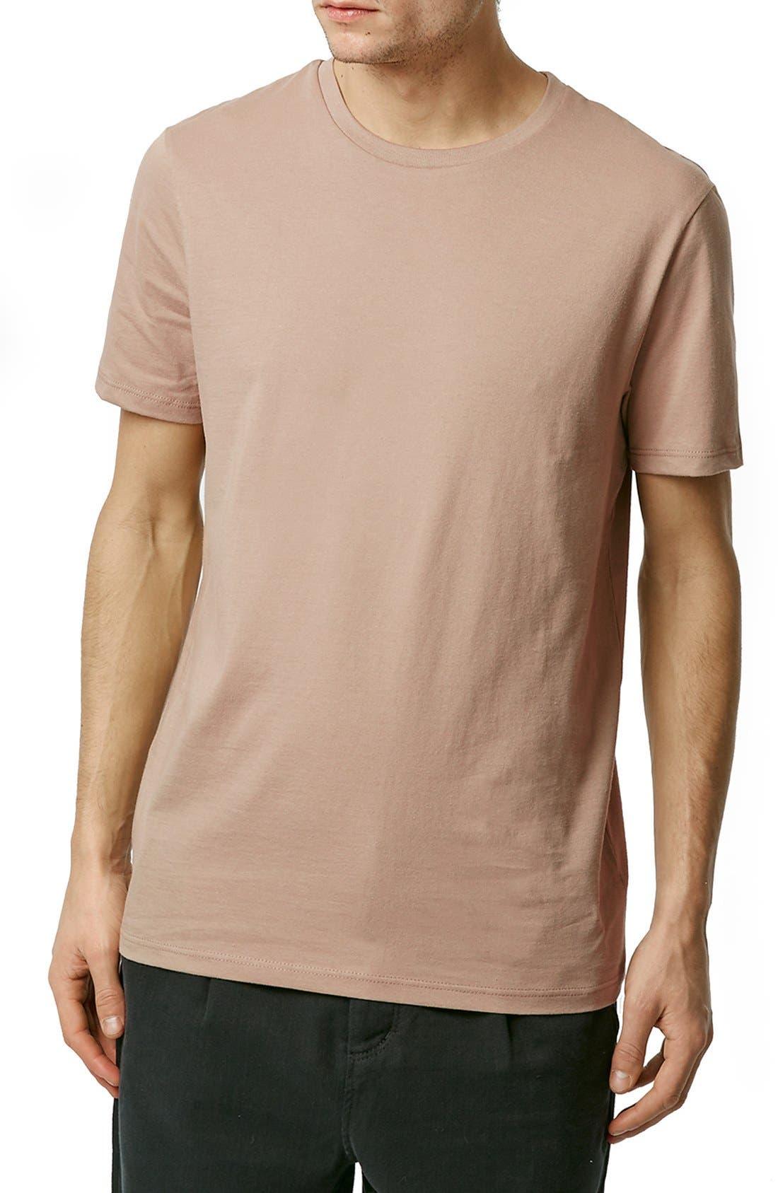 Slim Fit Crewneck T-Shirt,                             Main thumbnail 42, color,
