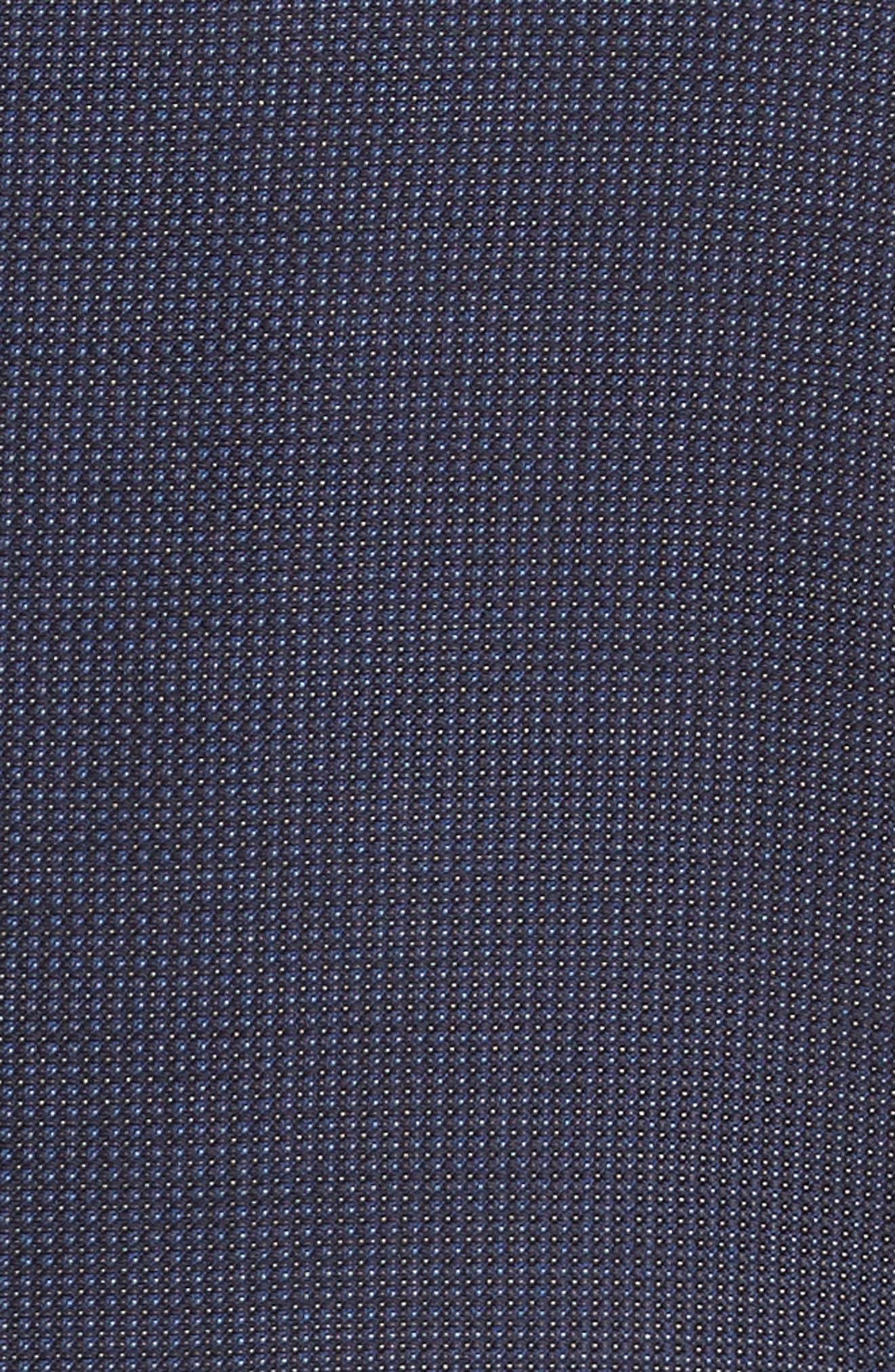 Roger Extra Slim Fit Solid Wool Suit,                             Alternate thumbnail 7, color,                             410