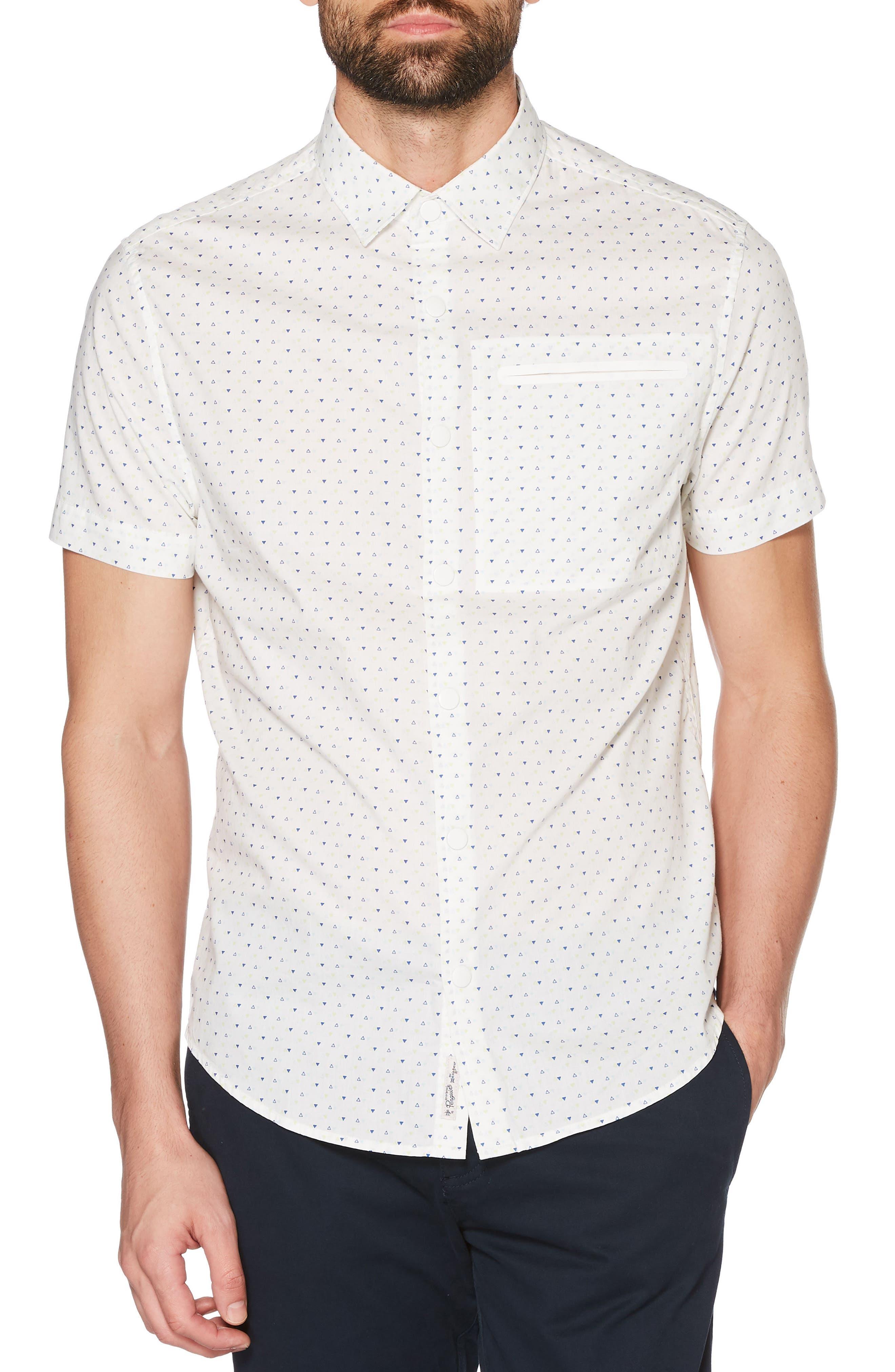 Stretch Poplin Shirt,                         Main,                         color, 118