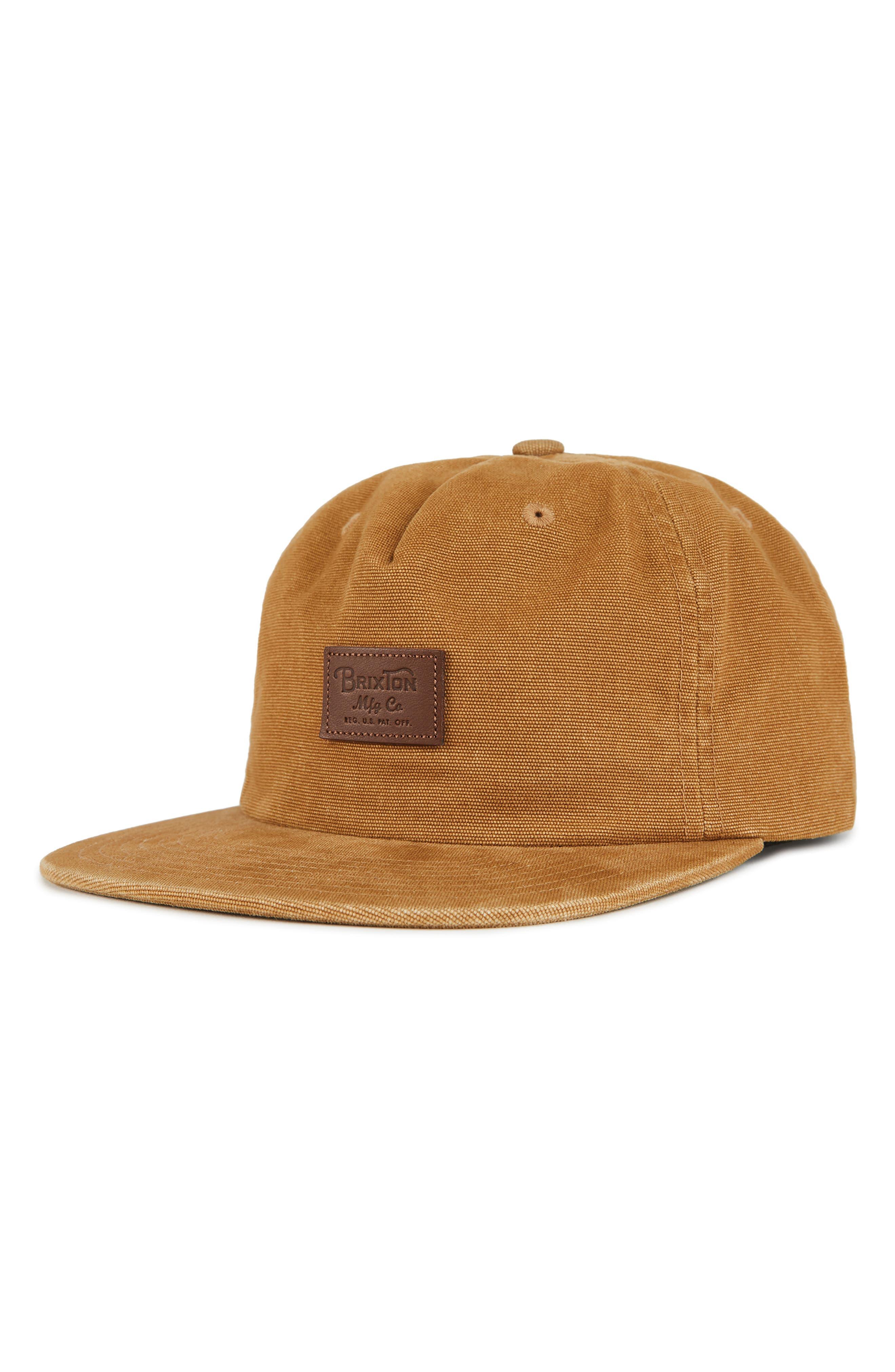 Grade II UC Snapback Baseball Cap,                         Main,                         color, DARK COPPER