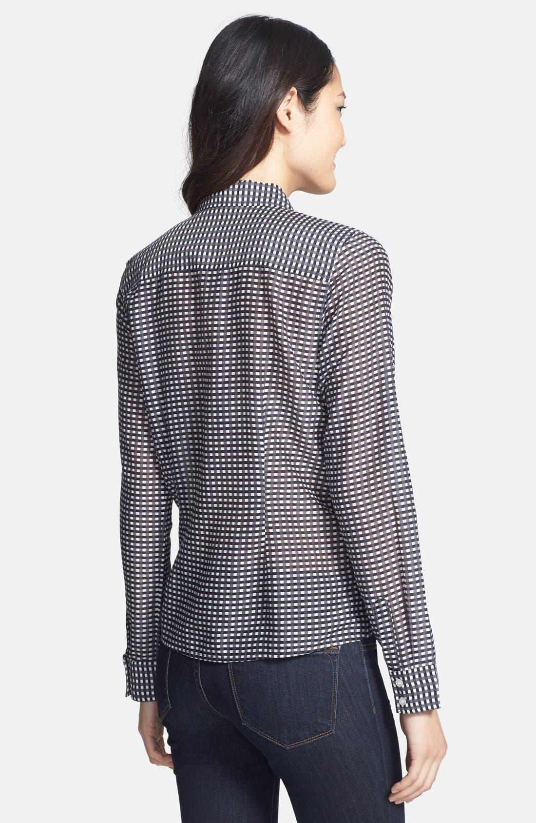 Cotton & Silk Shirt,                             Alternate thumbnail 134, color,