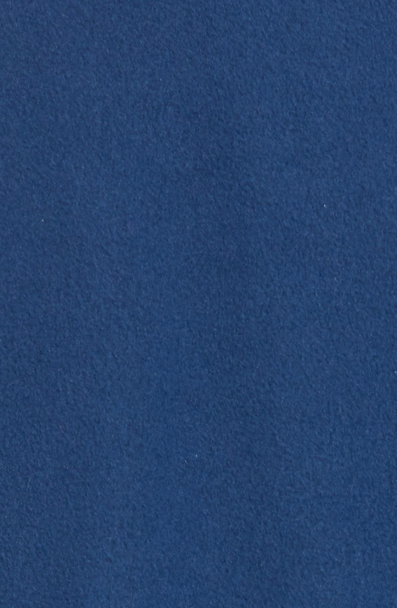 Fleece Pullover,                             Alternate thumbnail 5, color,                             STONE BLUE