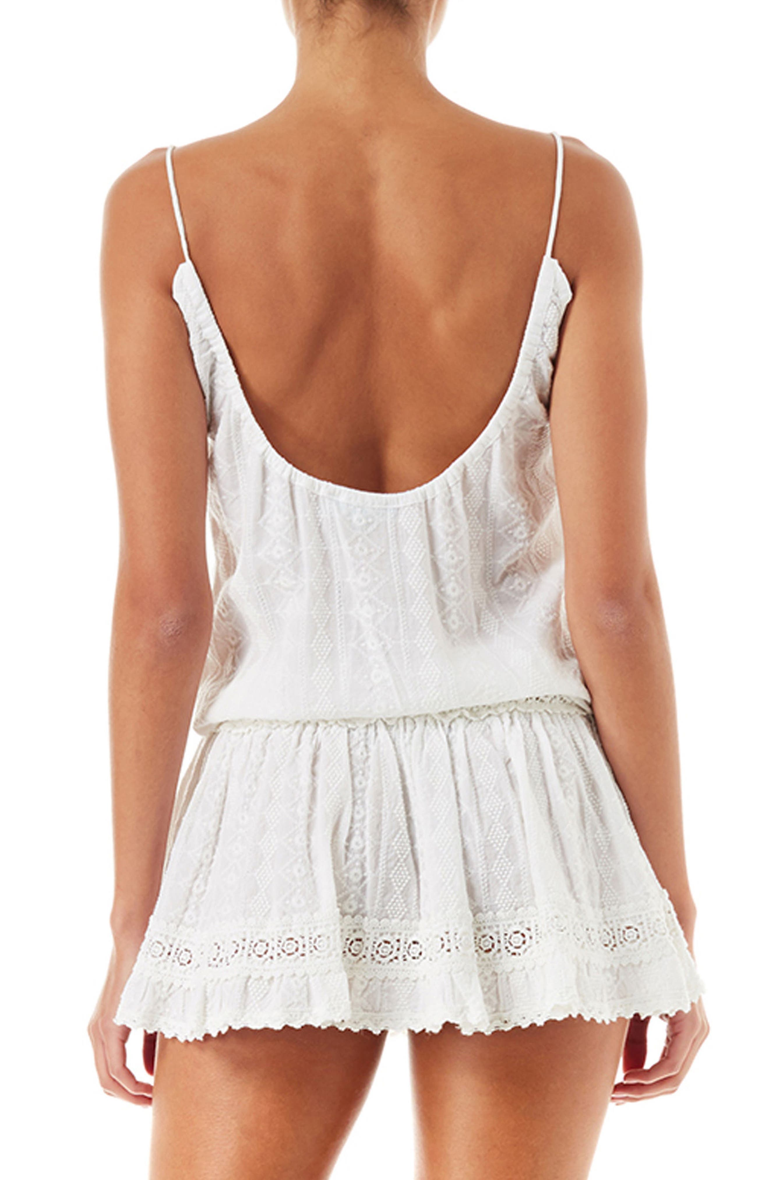 Chelsea Cover-Up Romper,                             Alternate thumbnail 2, color,                             115